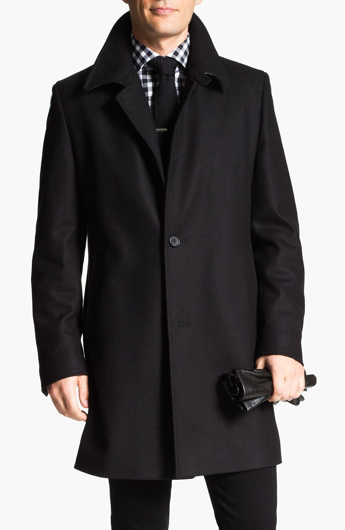 Alternate Image 1 Selected - BOSS Black 'The Task' Coat