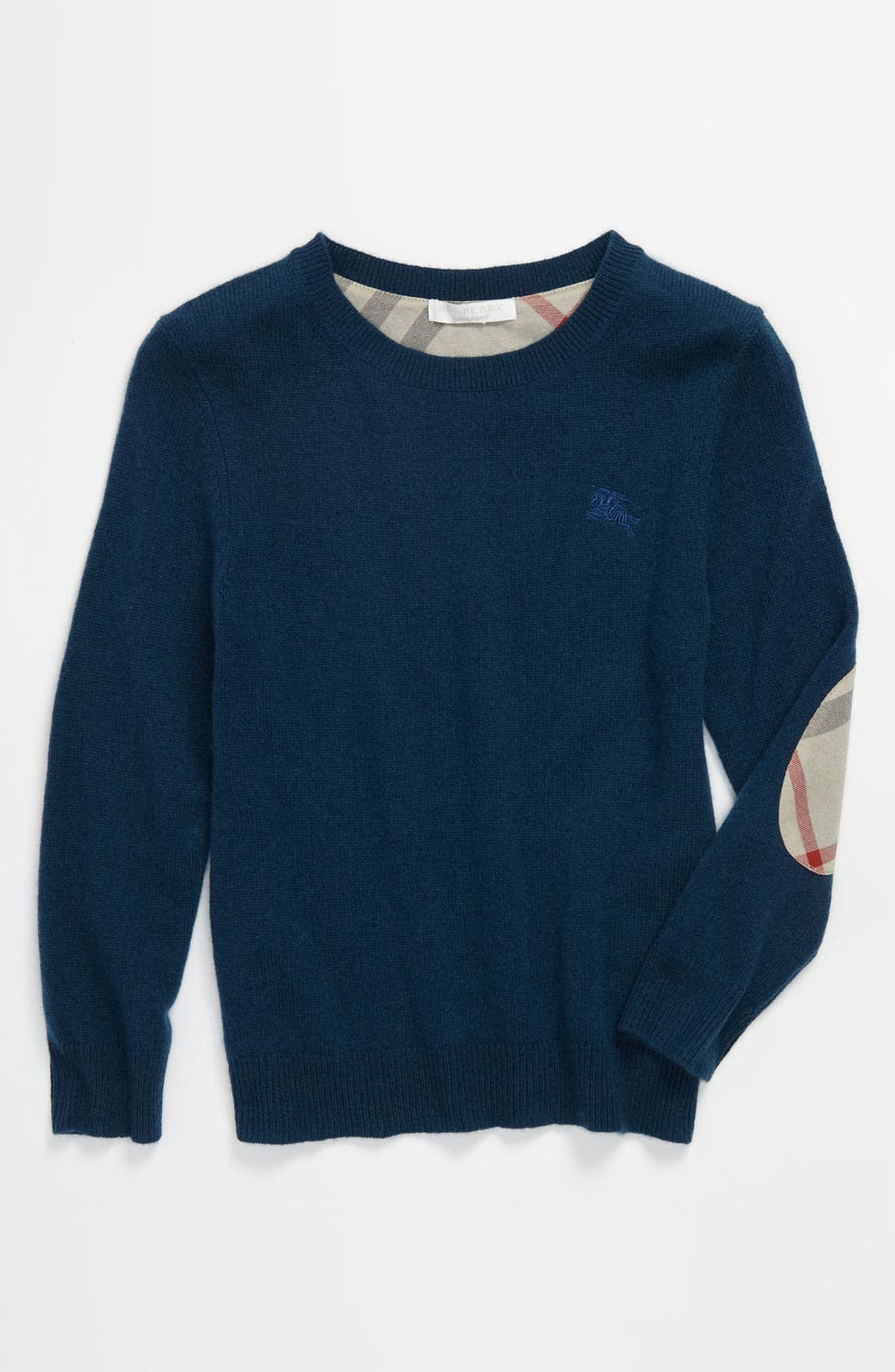 Main Image - Burberry Cashmere Sweater (Little Boys & Big Boys)