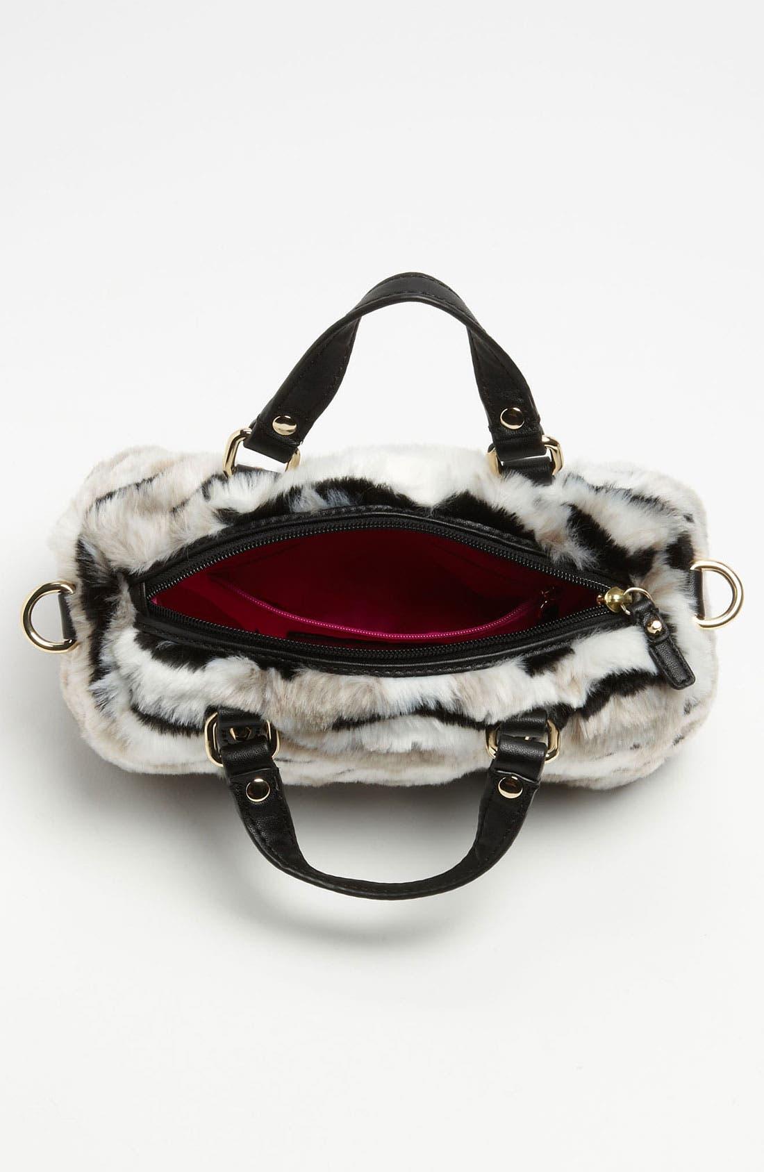Alternate Image 3  - Juicy Couture 'Mini Steffy' Faux Fur Satchel (Girls)