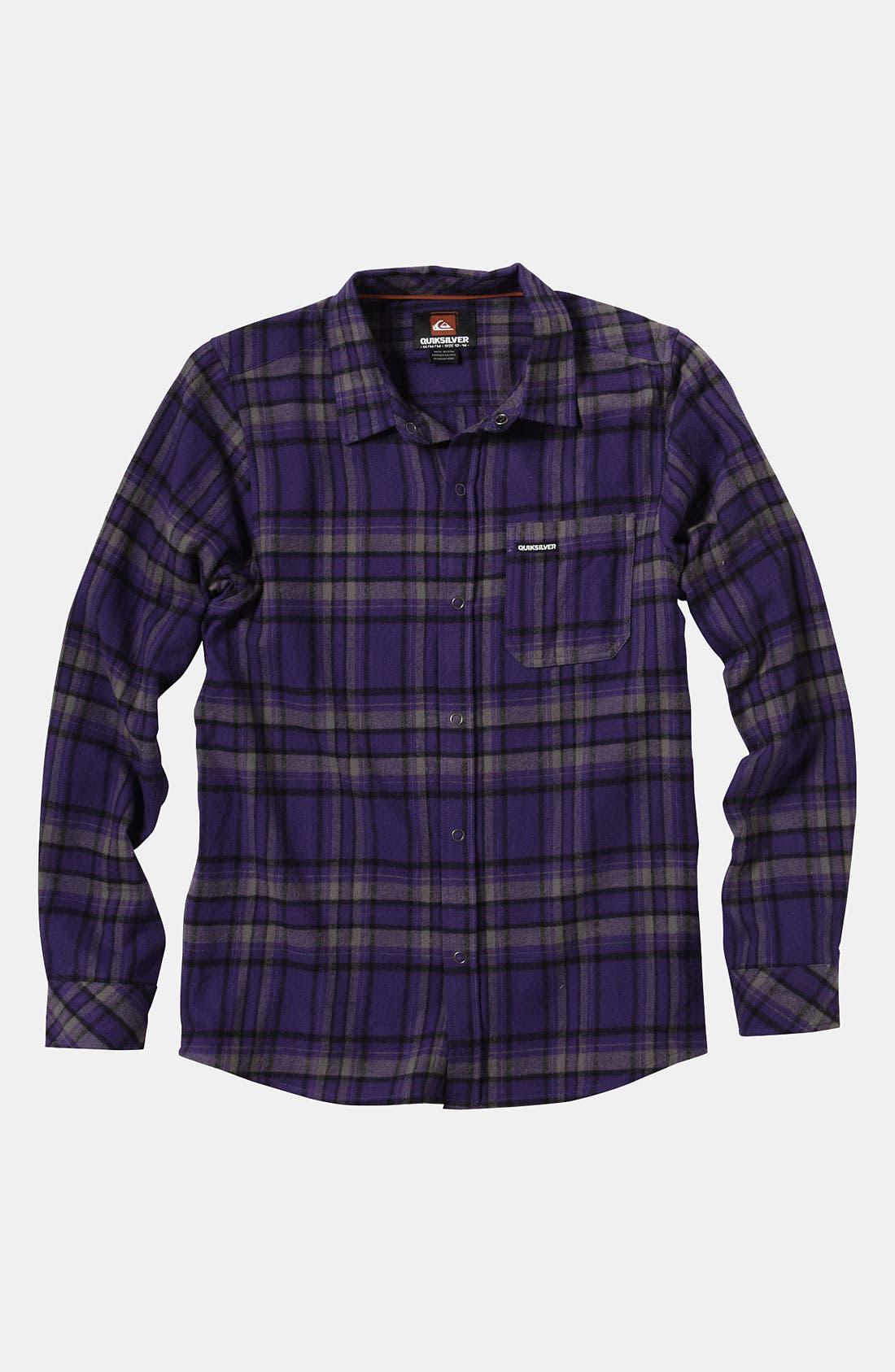 Alternate Image 1 Selected - Quiksilver 'Bunga Bunga' Woven Shirt (Big Boys)