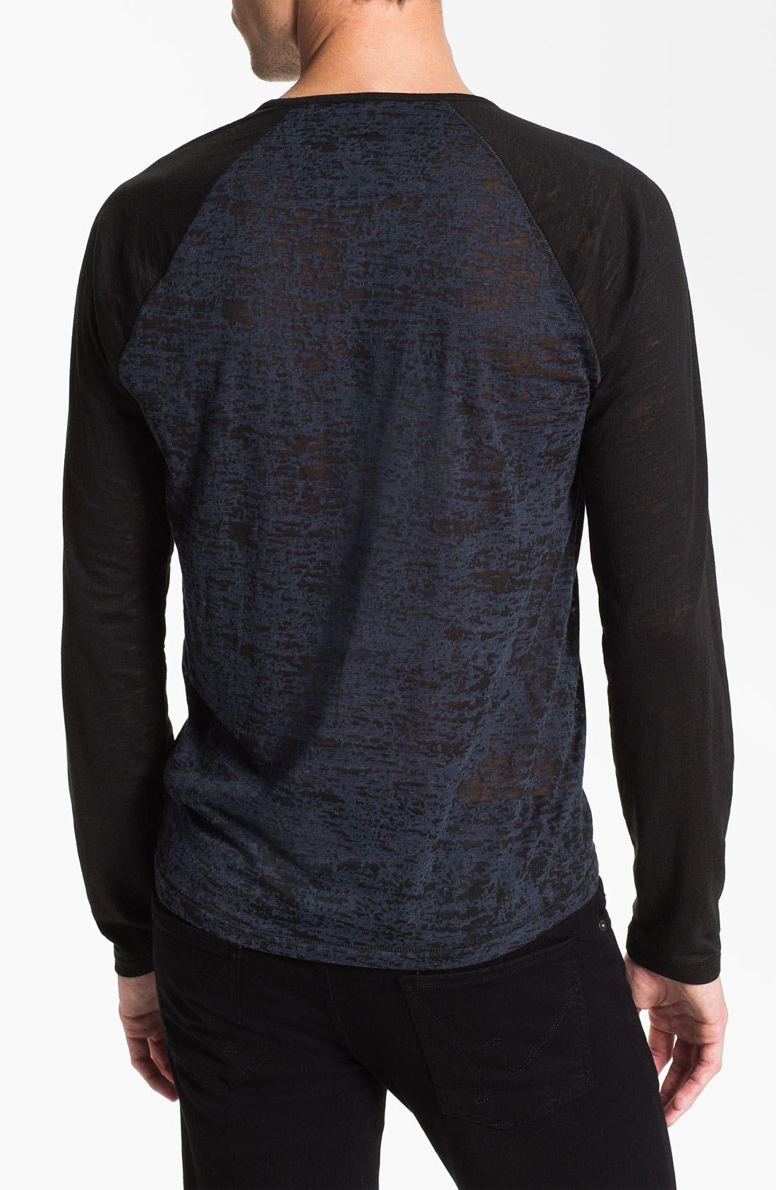 Alternate Image 2  - John Varvatos Star USA Raglan T-Shirt