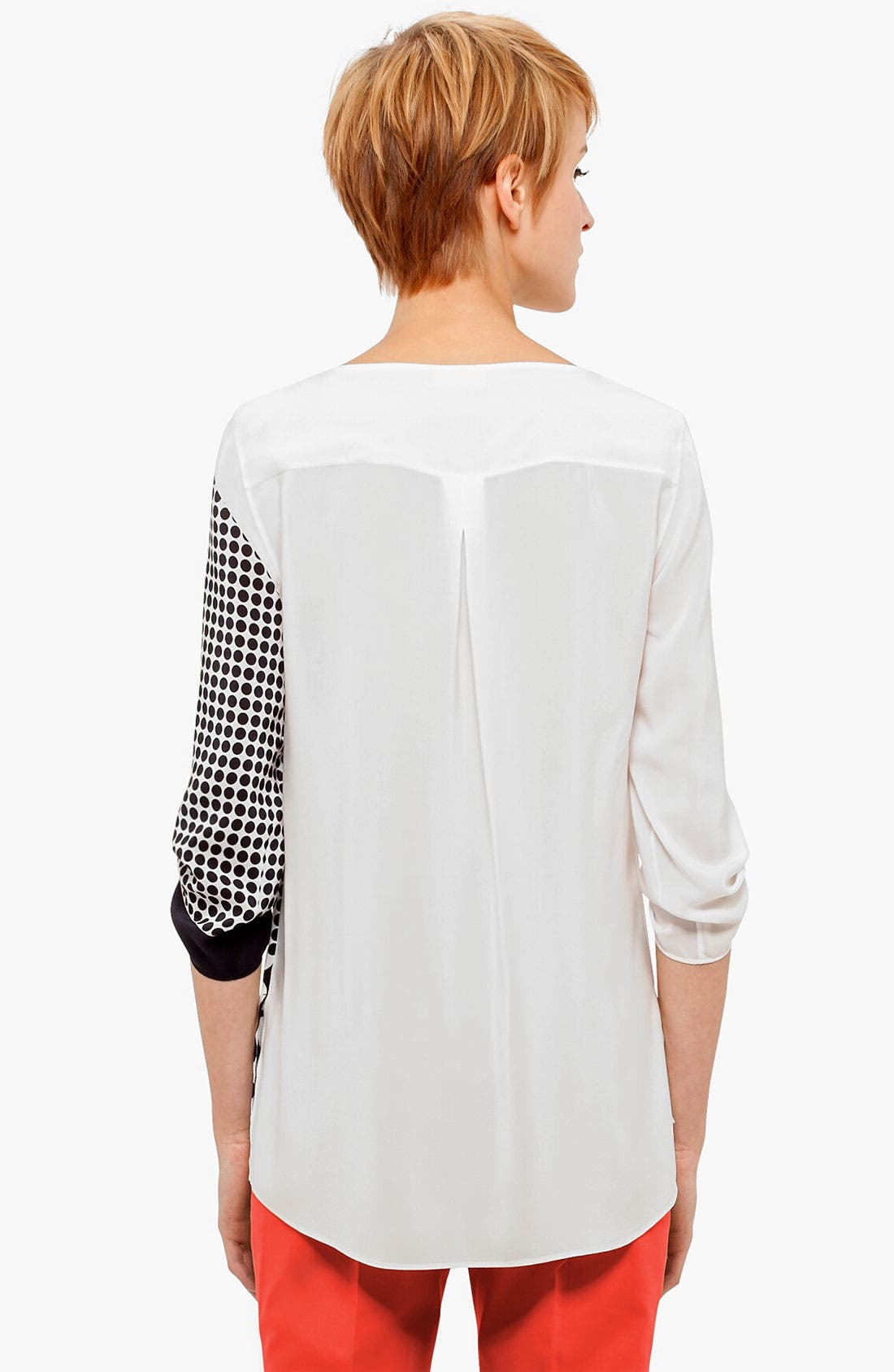 Alternate Image 2  - Akris punto Print Silk Blouse
