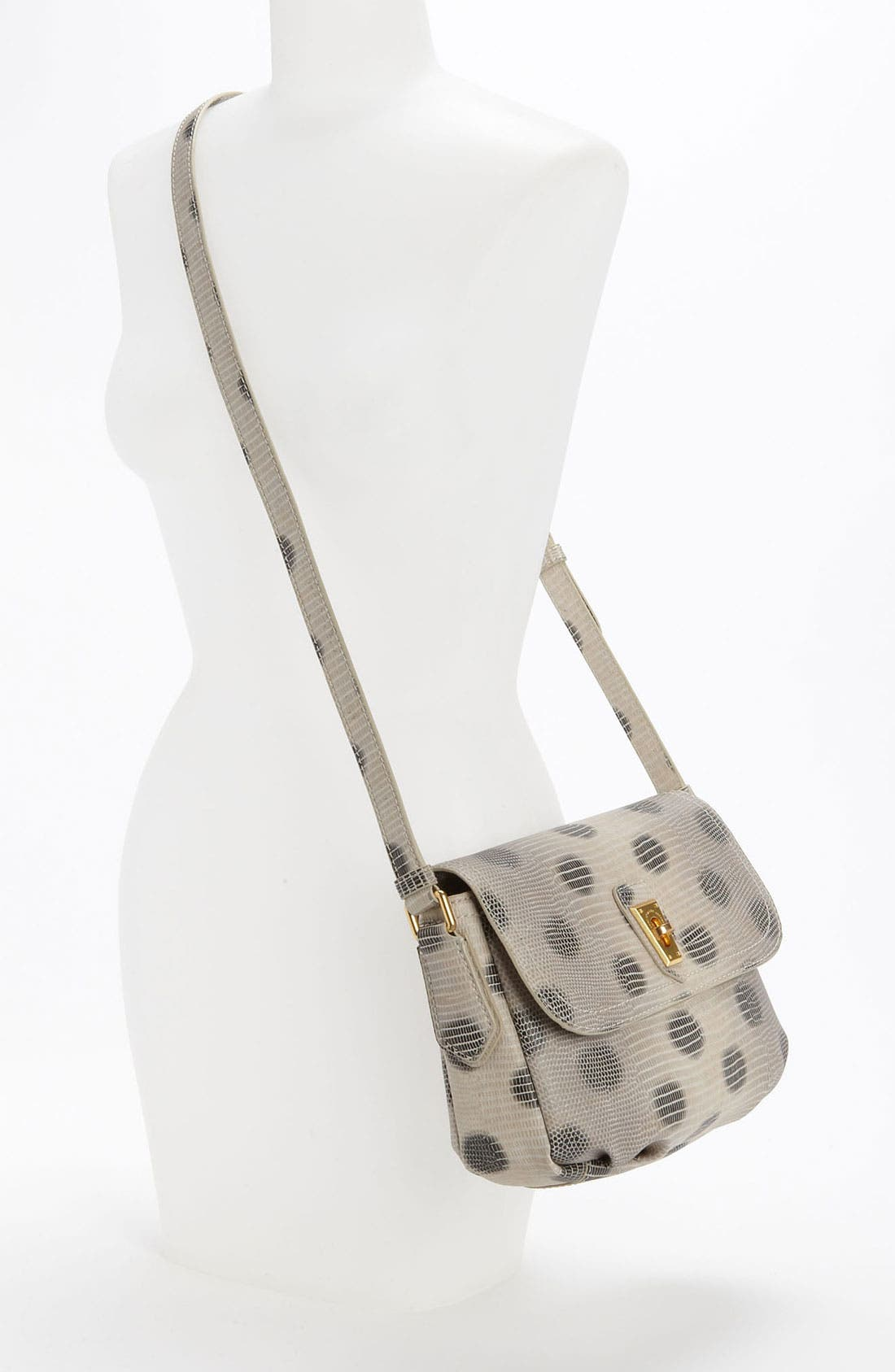 Alternate Image 2  - MARC BY MARC JACOBS 'Lizzie Dots' Embossed Crossbody Bag