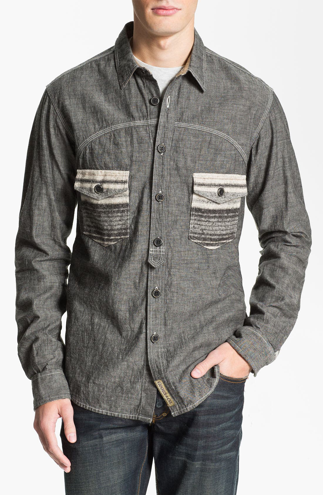 Alternate Image 1 Selected - PRPS 'Naval' Woven Shirt