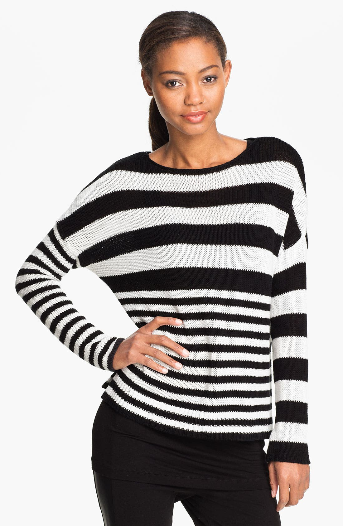 Main Image - Two by Vince Camuto Boatneck Sweater