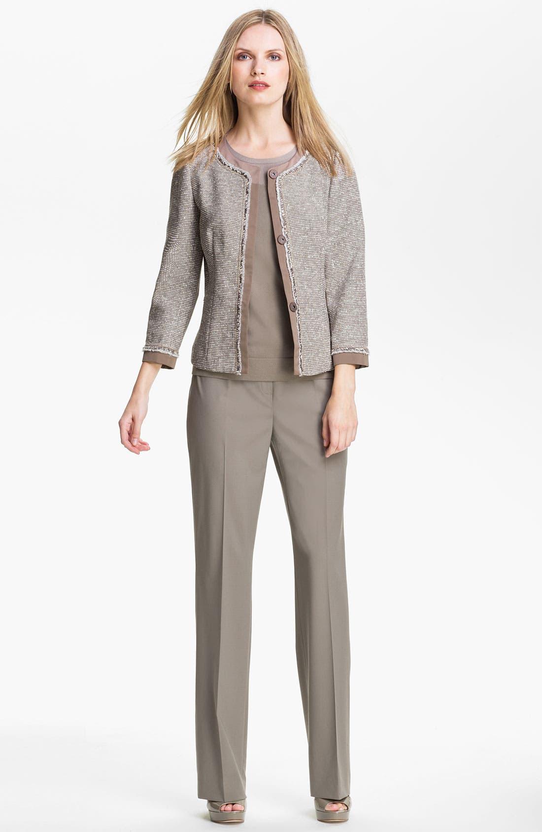 Alternate Image 3  - Lafayette 148 New York 'Antonia' Tweed Jacket