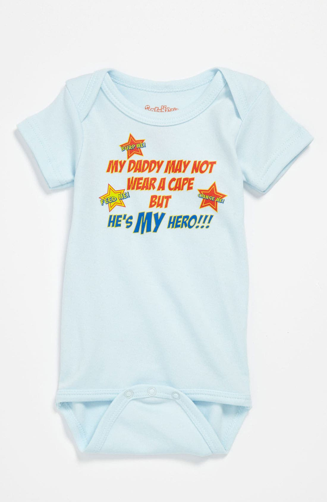 Main Image - Sara Kety Baby & Kids 'Daddy Hero' Bodysuit (Infant)