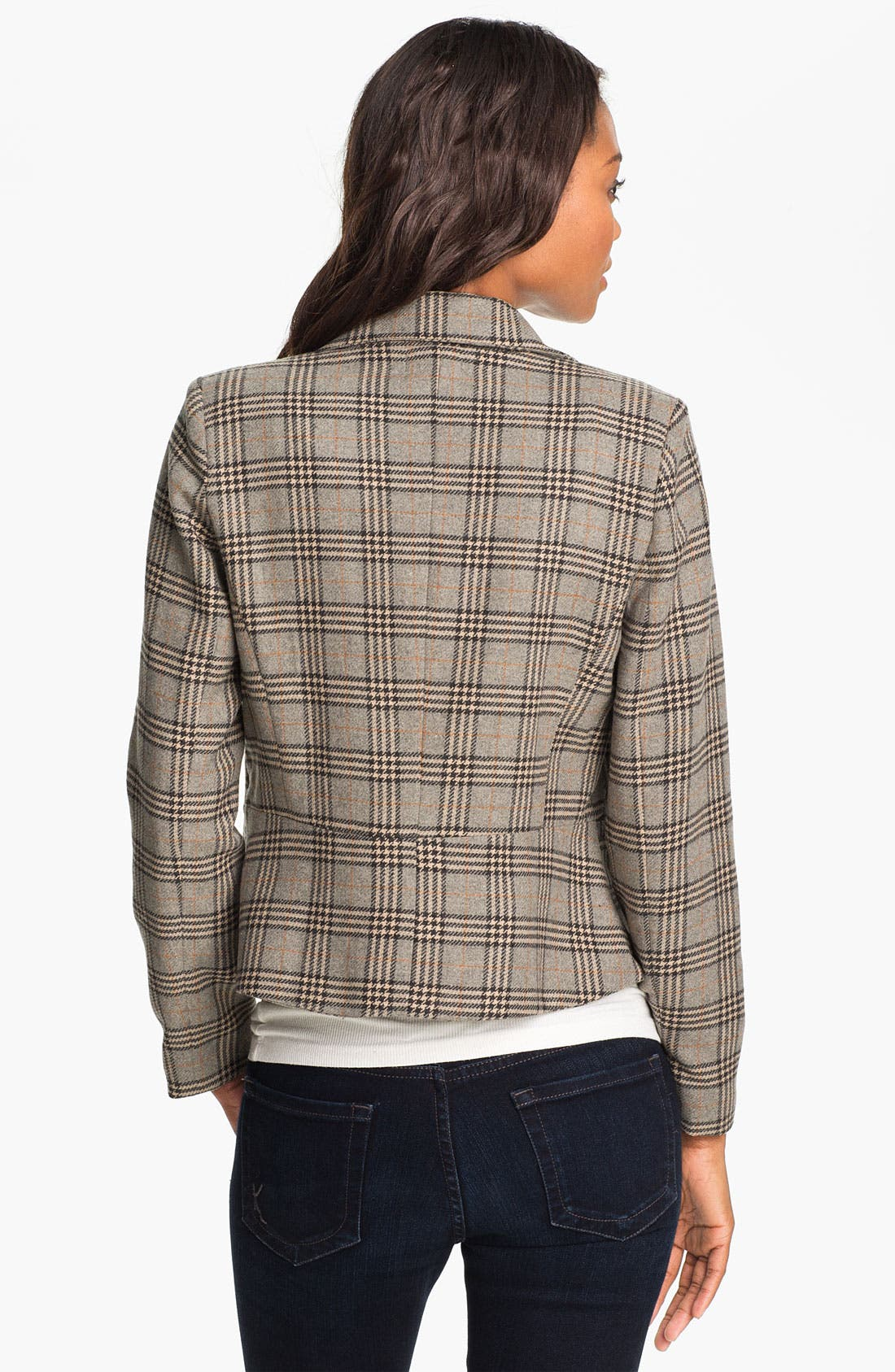 Alternate Image 2  - Max & Mia Plaid Jacket