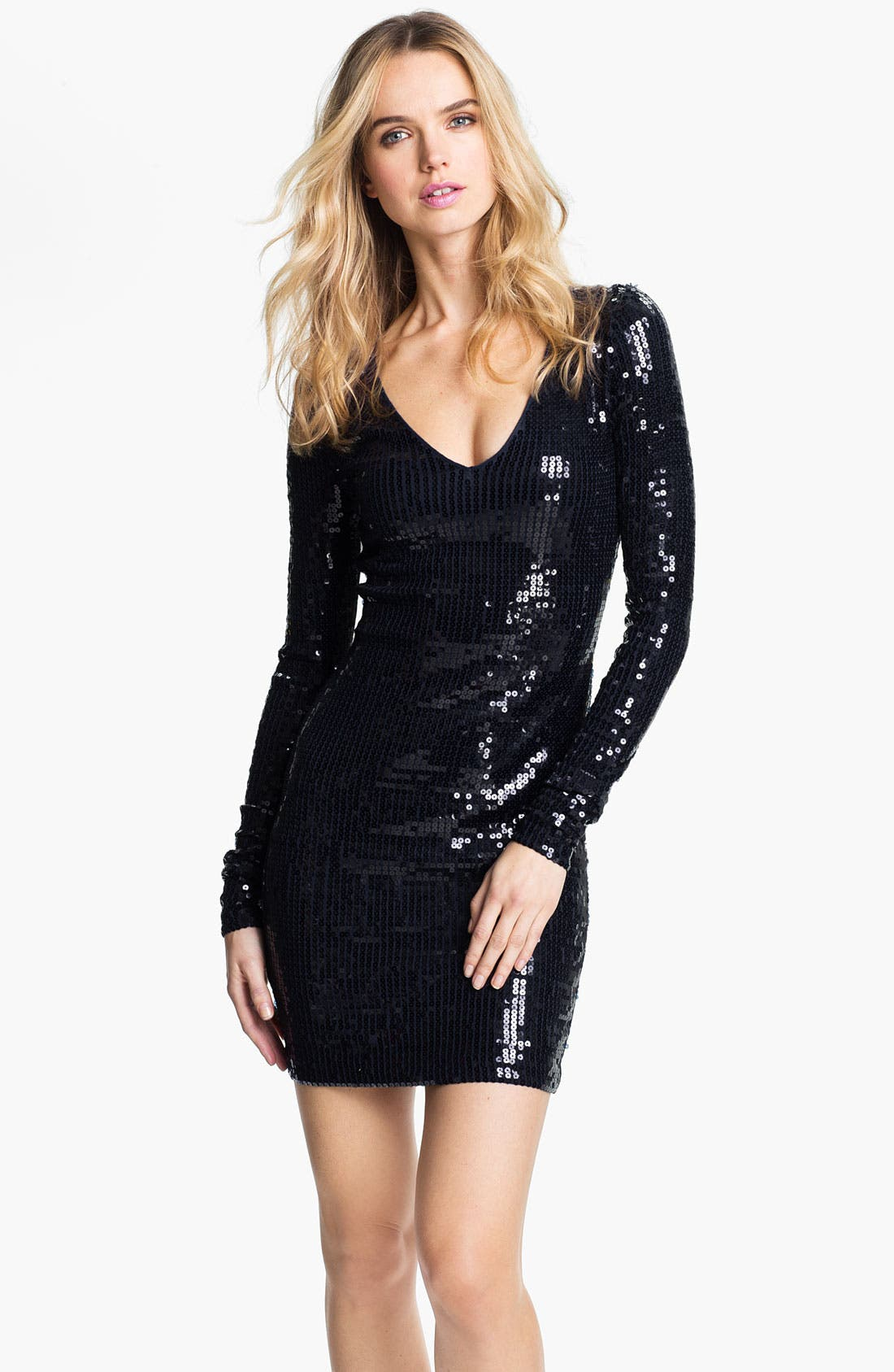 Alternate Image 1 Selected - Robert Rodriguez Sequin Minidress