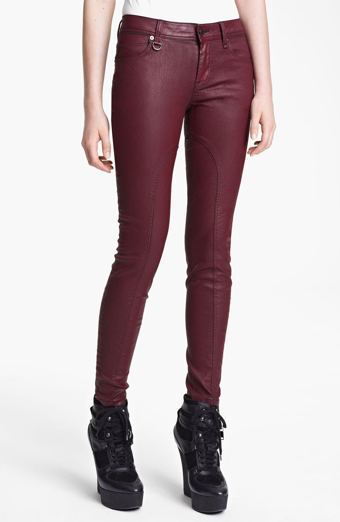 Alternate Image 1 Selected - Burberry Brit Skinny Leg Pants