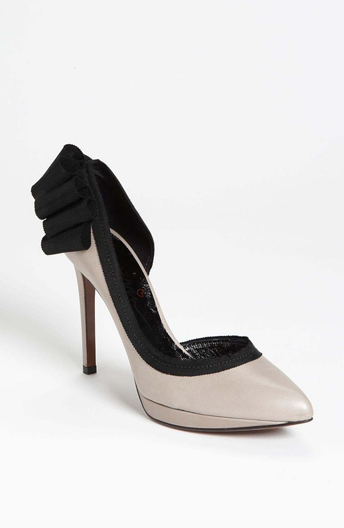 Alternate Image 1 Selected - Lanvin Grosgrain Bow Pump