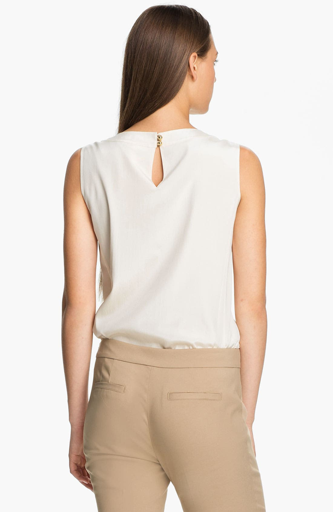 Alternate Image 2  - Tory Burch 'April' Stretch Silk Top