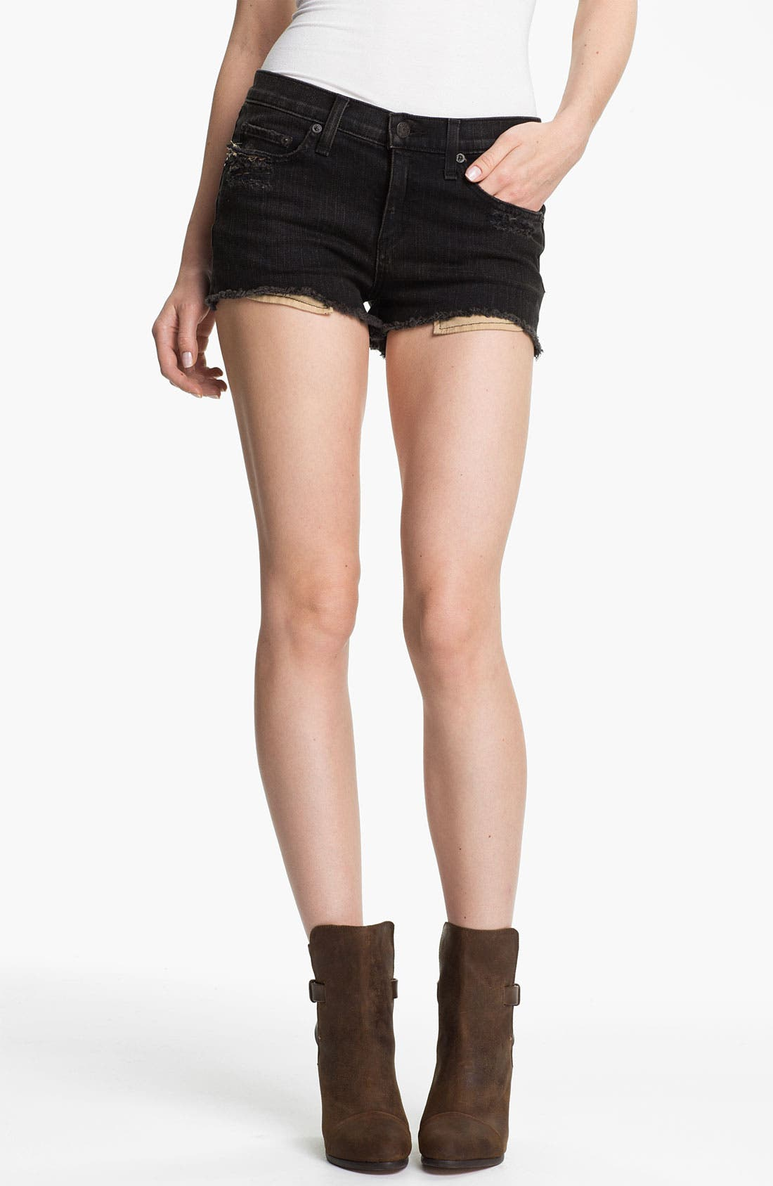 Main Image - rag & bone 'Mila' Cutoff Denim Shorts
