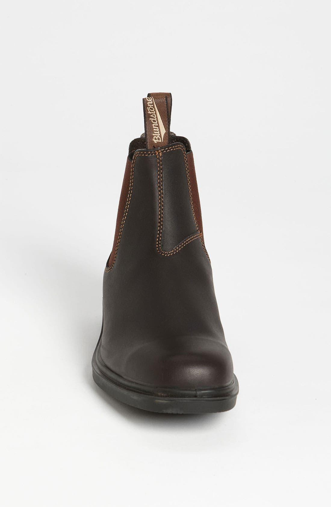 Footwear Chelsea Boot,                             Alternate thumbnail 3, color,                             Stout Brown