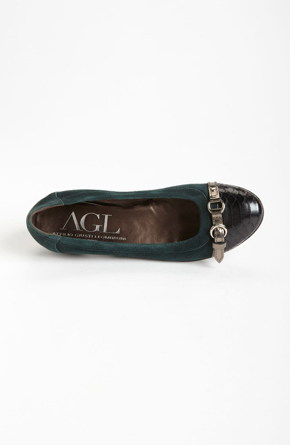 Alternate Image 3  - AGL Cap Toe Ballerina Flat (Women)
