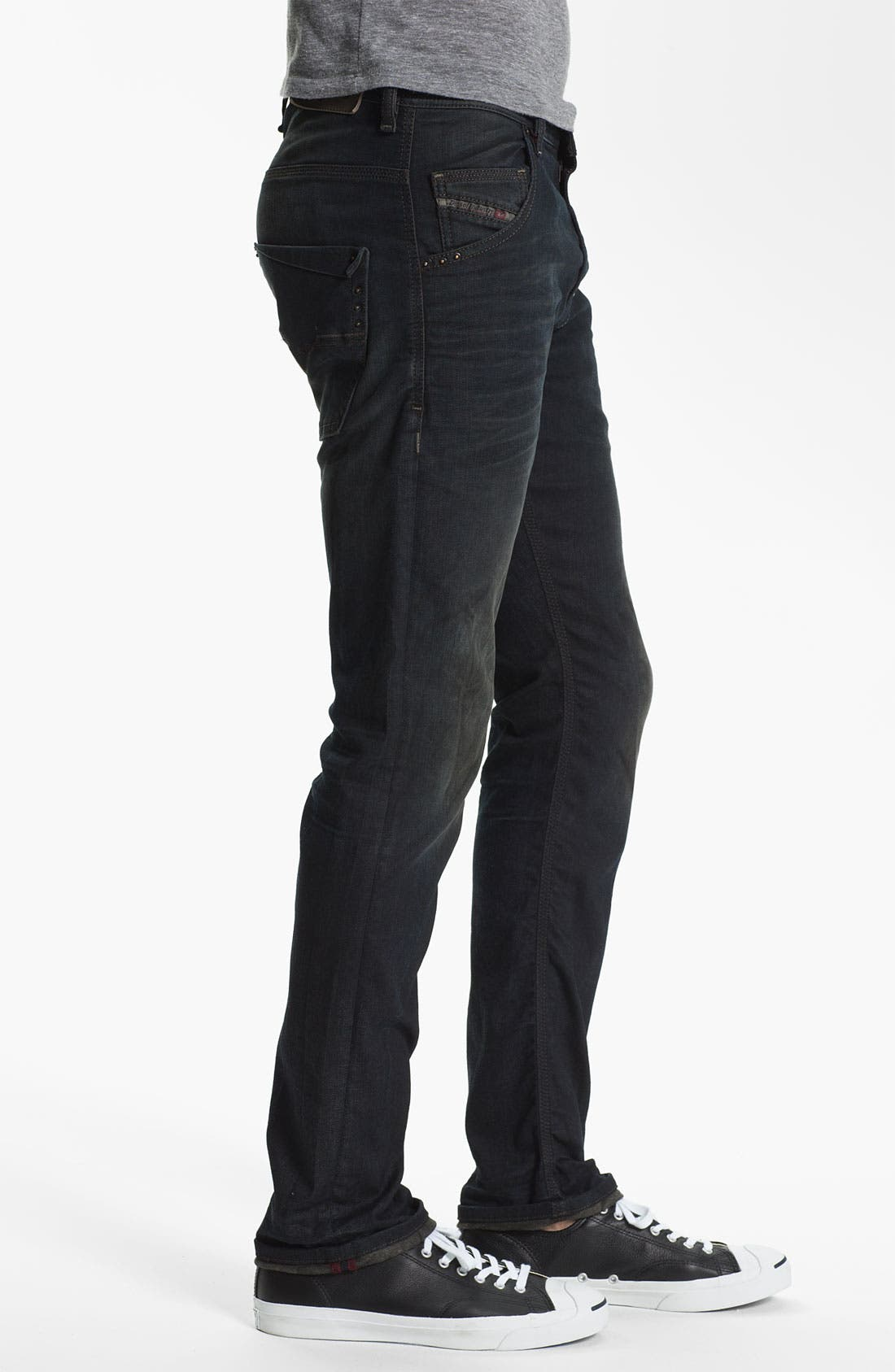 Alternate Image 3  - DIESEL® 'Krooley' Relaxed Tapered Leg Jeans (0806Q) (Online Exclusive)