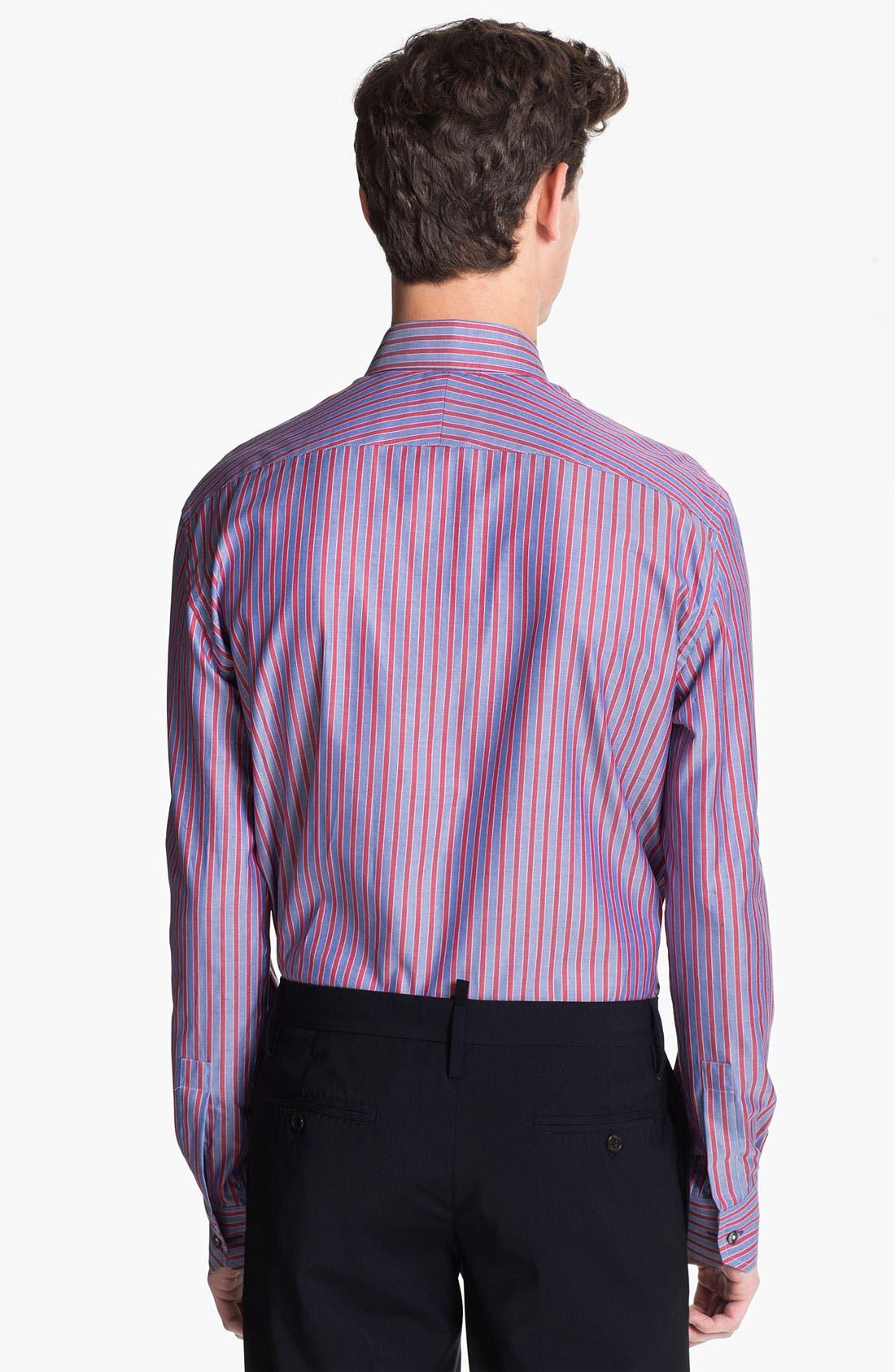 Alternate Image 2  - Paul Smith London Stripe Dress Shirt