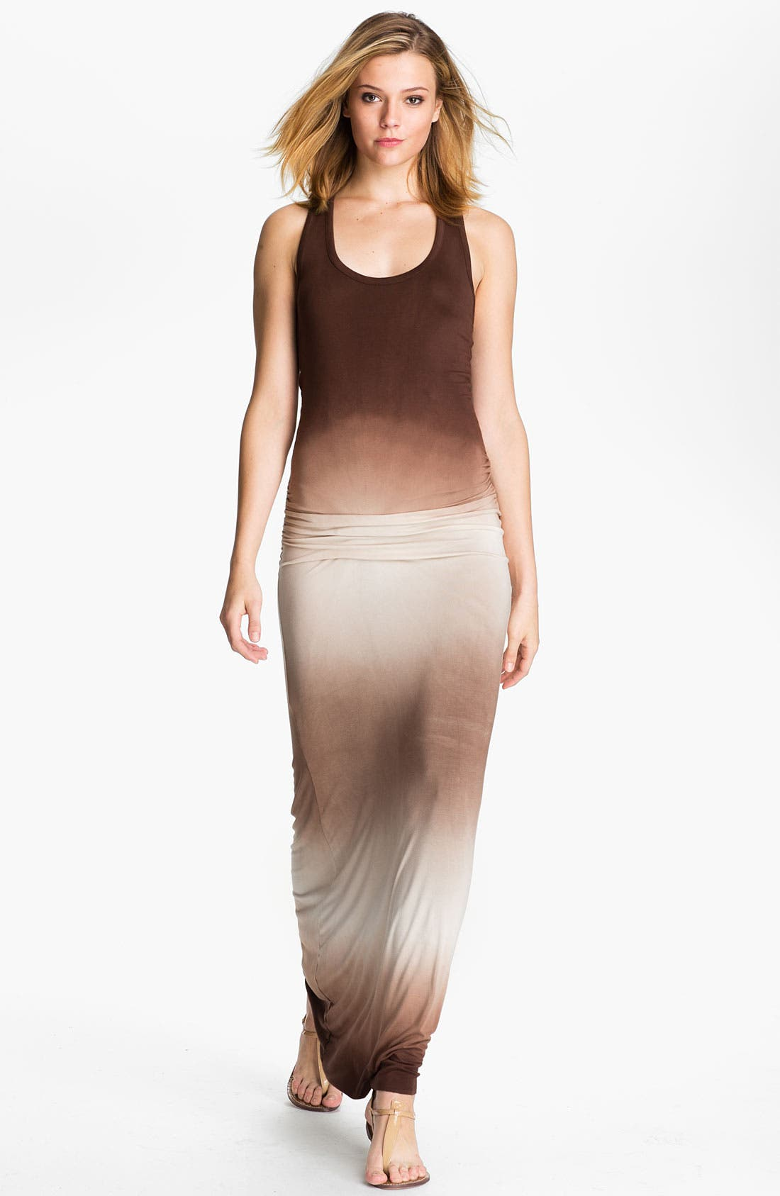 Alternate Image 1 Selected - Young, Fabulous & Broke 'Hamptons' Ombré Maxi Dress