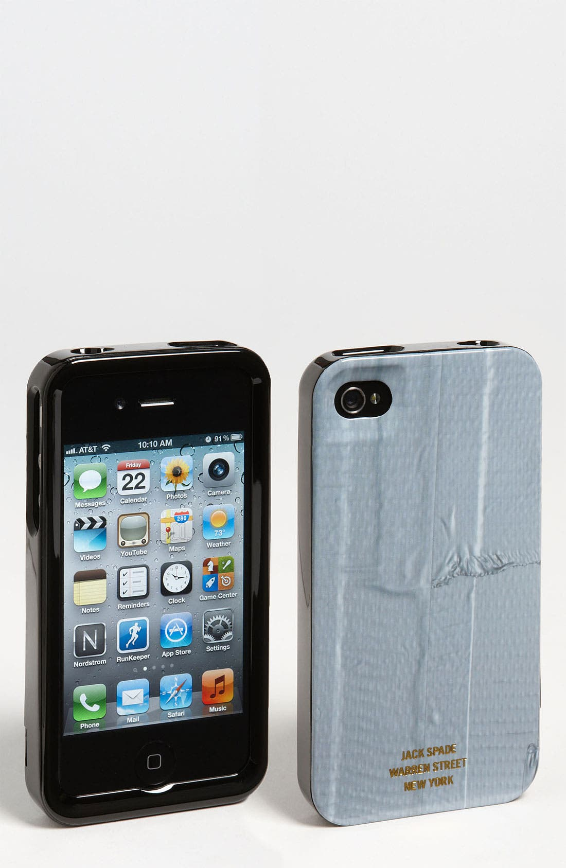 Alternate Image 1 Selected - Jack Spade 'Duct Tape' iPhone 4 & 4S Case