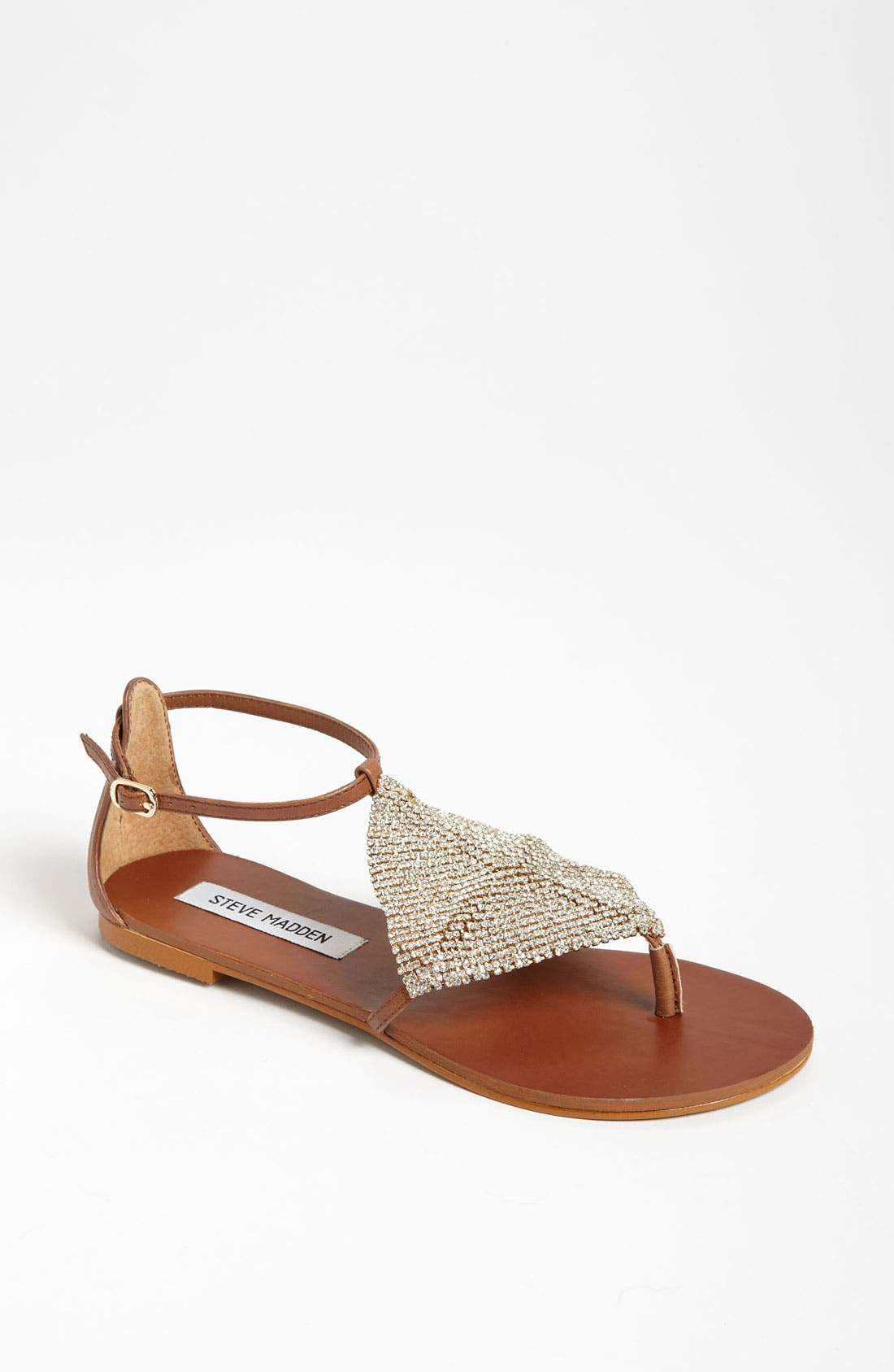 Alternate Image 1 Selected - Steve Madden 'Shineyy' Sandal