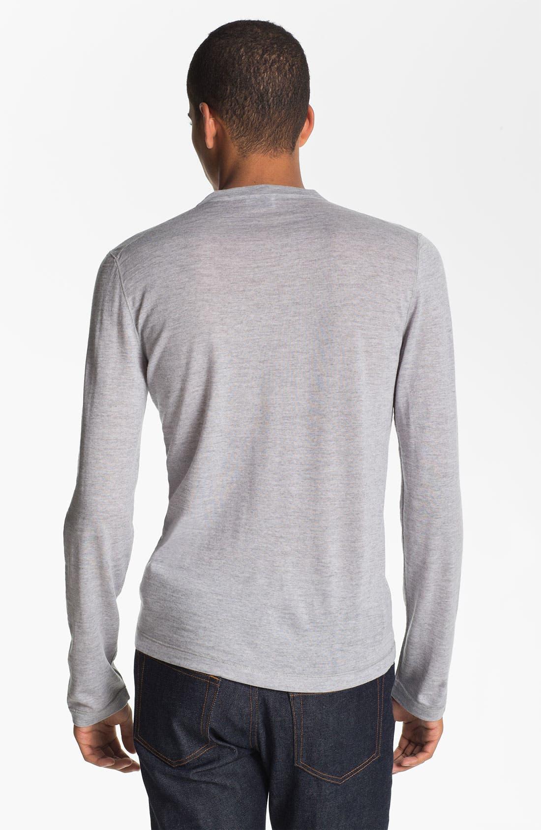 Alternate Image 2  - Jil Sander Crewneck Wool Sweater