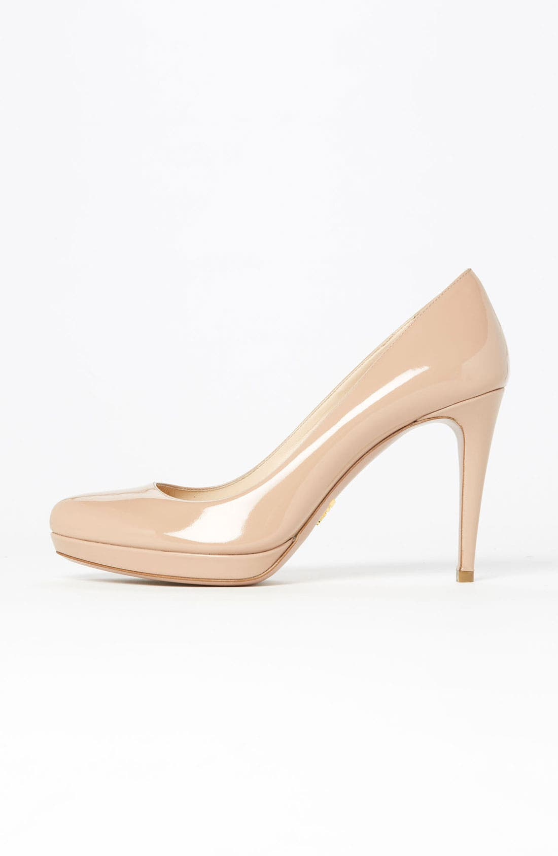 Alternate Image 4  - Prada Round Toe Platform Pump