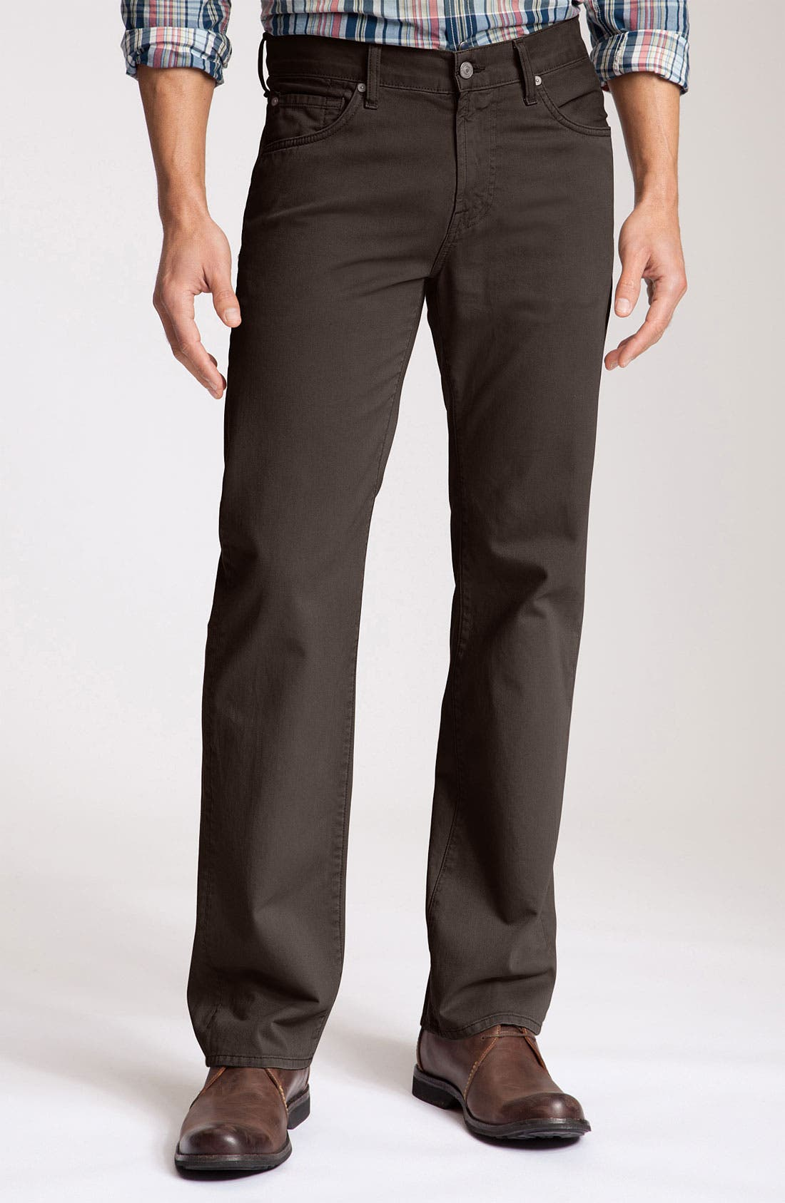 Alternate Image 2  - 7 For All Mankind® 'Austyn' Twill Pants