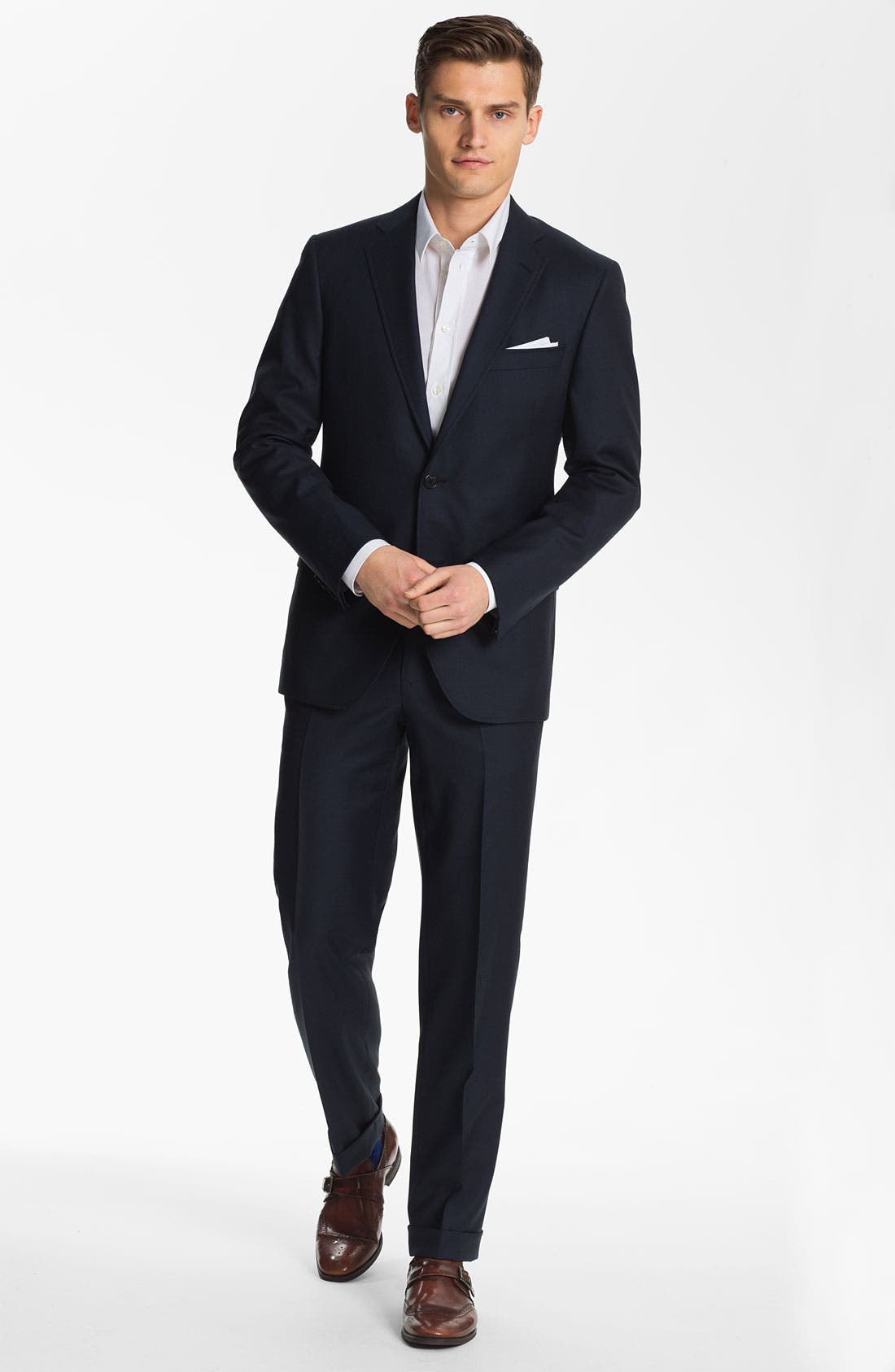 Alternate Image 2  - Billy Reid 'Campbell - Heirloom Collection' Wool Suit