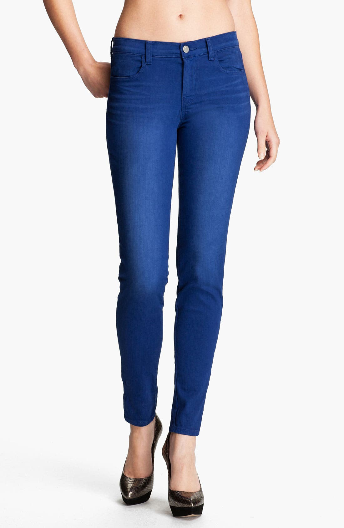Main Image - J Brand Super Skinny Stretch Jeans