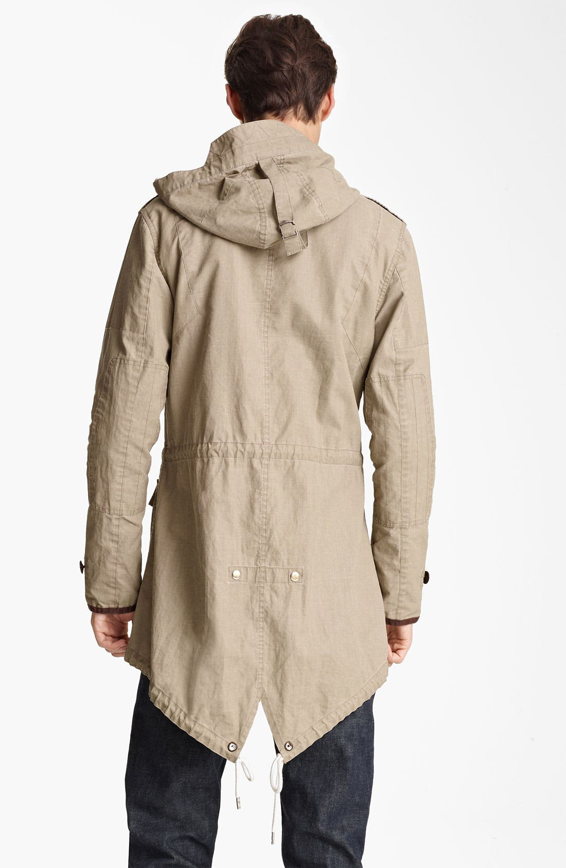 Alternate Image 2  - Todd Snyder 'Flight' Ramie Fishtail Parka