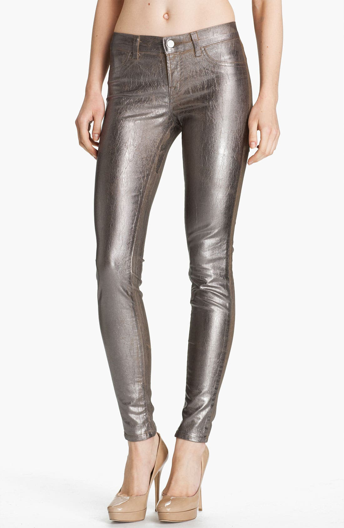 Alternate Image 1 Selected - J Brand Stretch Denim Leggings