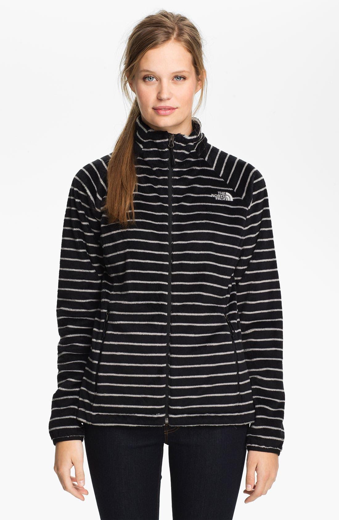 Main Image - The North Face 'Osito' Stripe Fleece Jacket