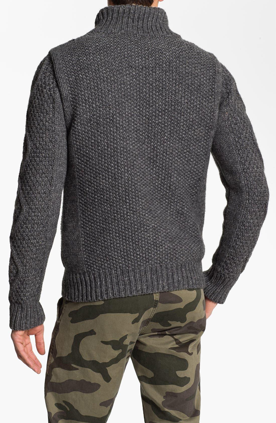 Alternate Image 2  - Scotch & Soda Chunky Knit Sweater