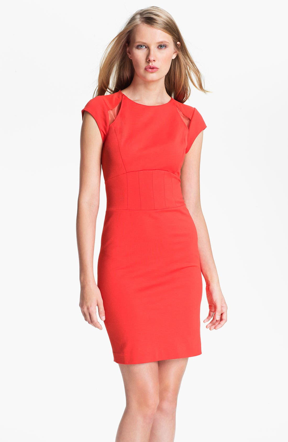 Alternate Image 1 Selected - Ted Baker London Paneled Sheath Dress