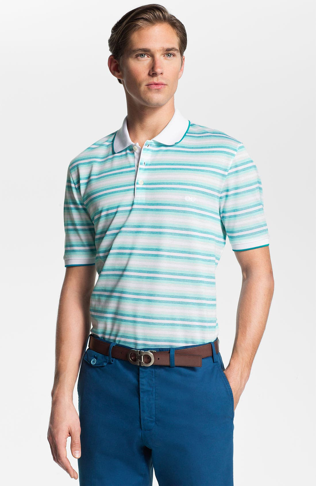 Alternate Image 1 Selected - Salvatore Ferragamo Polo