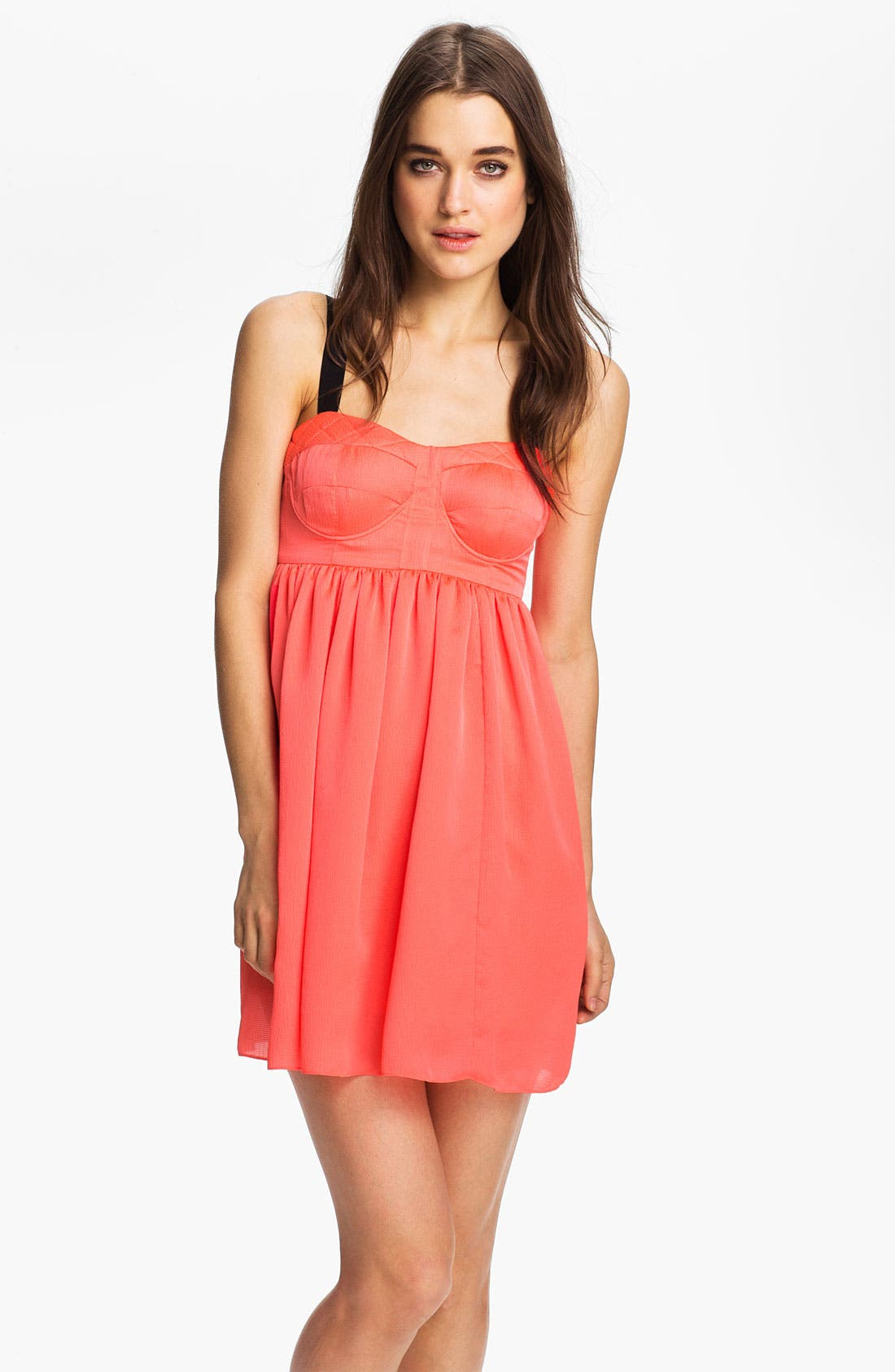 Alternate Image 1 Selected - Rebecca Minkoff 'Jami' Bustier Babydoll Dress