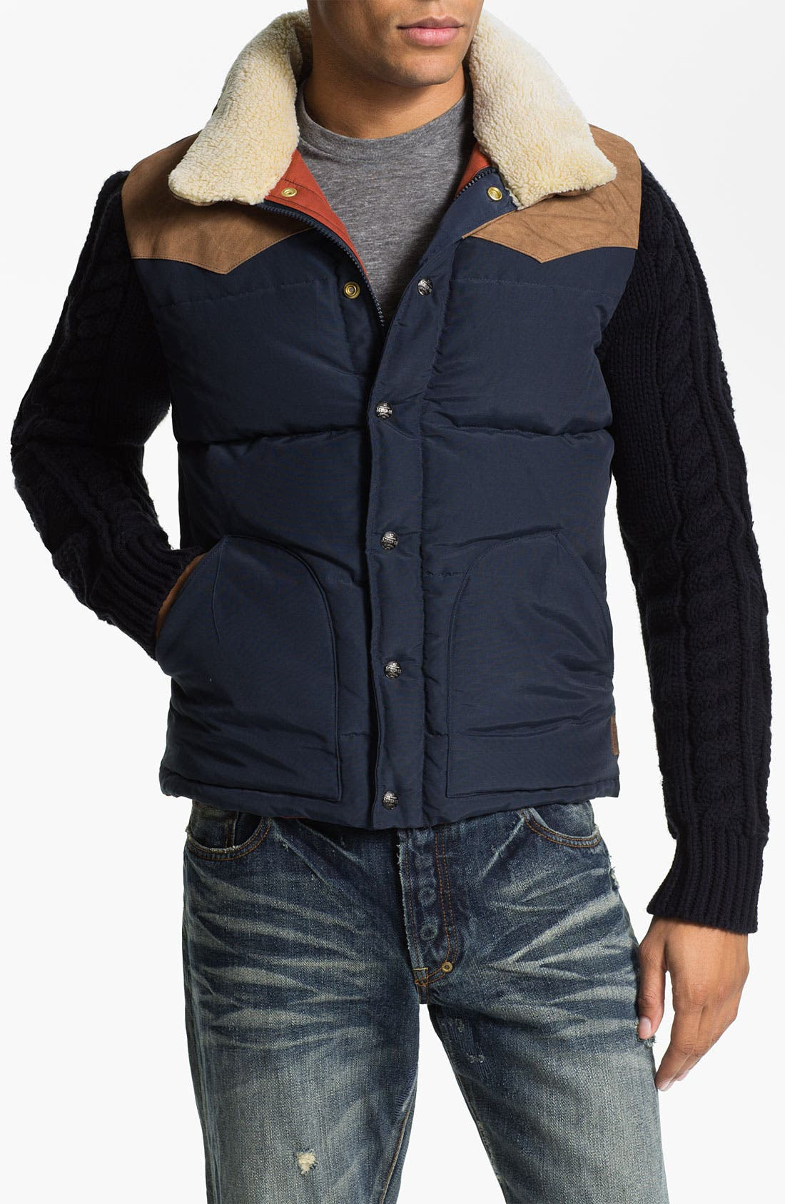 Alternate Image 1 Selected - Scotch & Soda Quilted Jacket