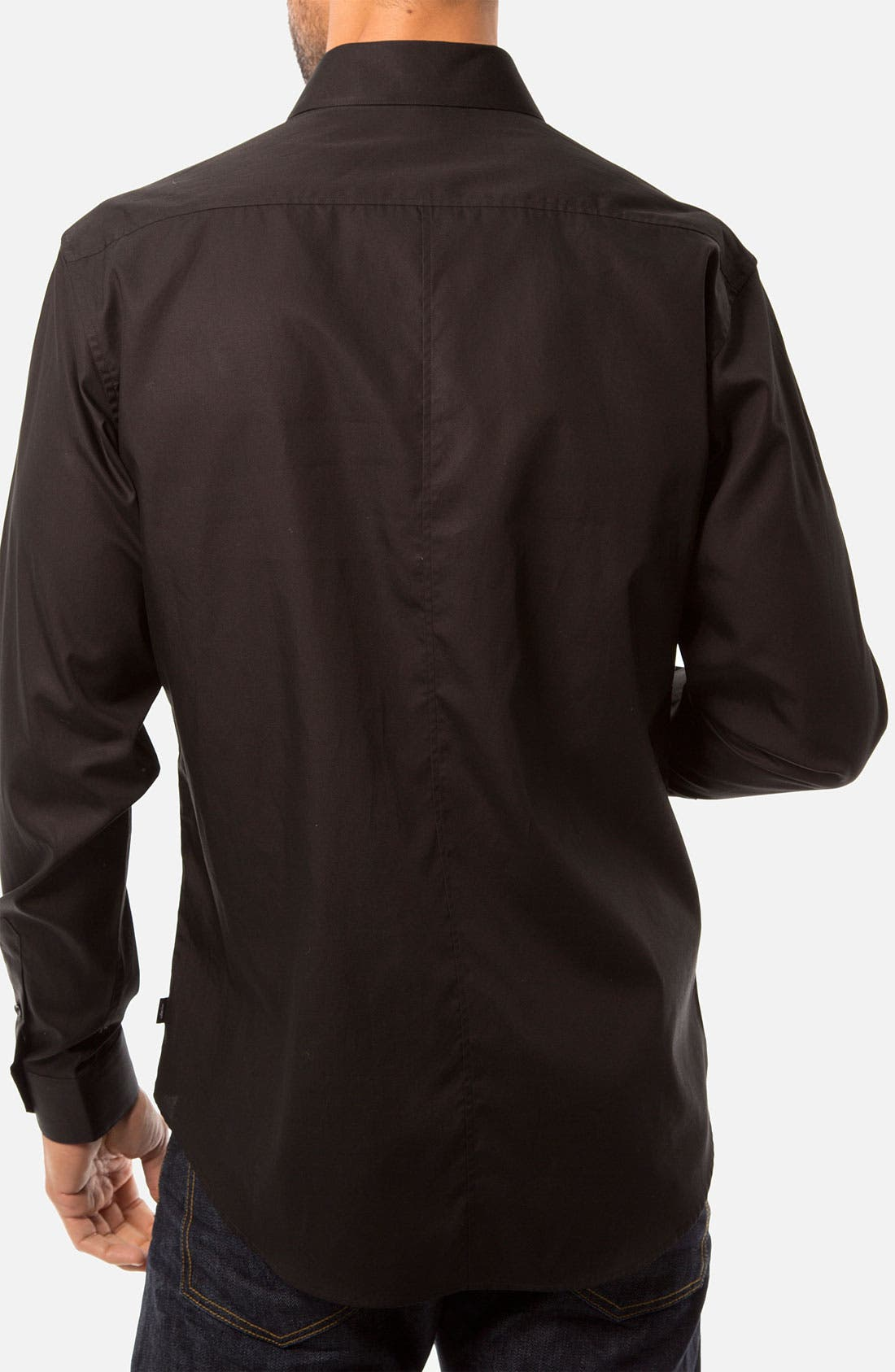 Alternate Image 2  - 7 Diamonds 'A Fine Romance' Woven Sport Shirt