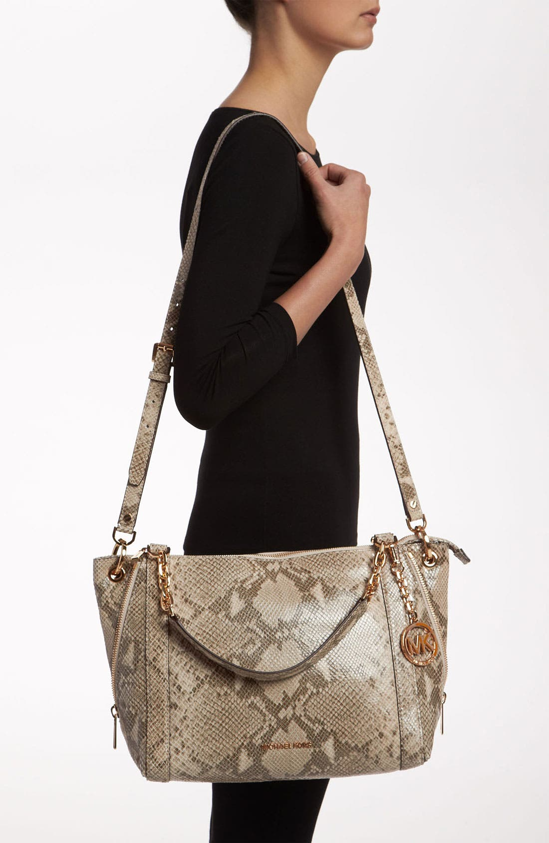 Alternate Image 2  - MICHAEL Michael Kors 'Stanthorpe - Large' Satchel