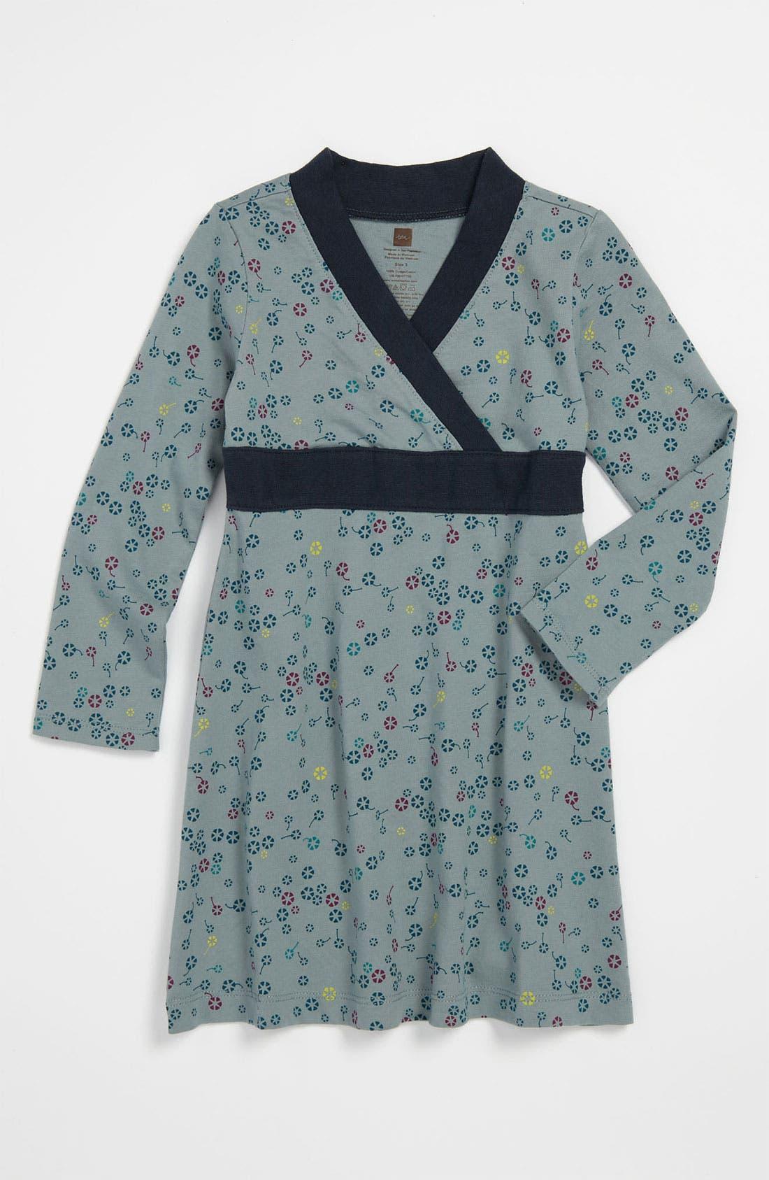 Alternate Image 1 Selected - Tea Collection Wrap Dress (Toddler)