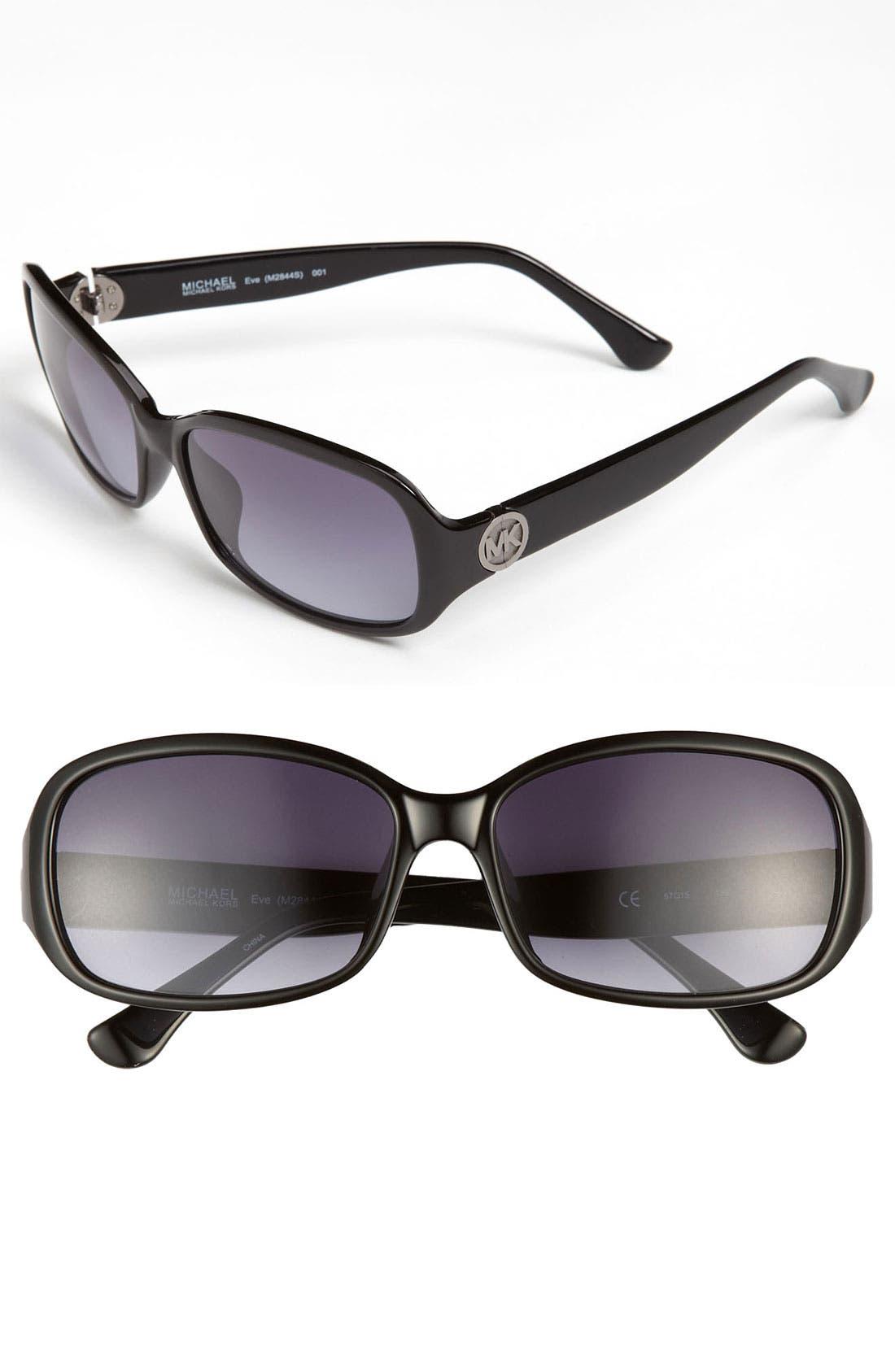 Main Image - MICHAEL Michael Kors 'Basic' 57mm Sunglasses