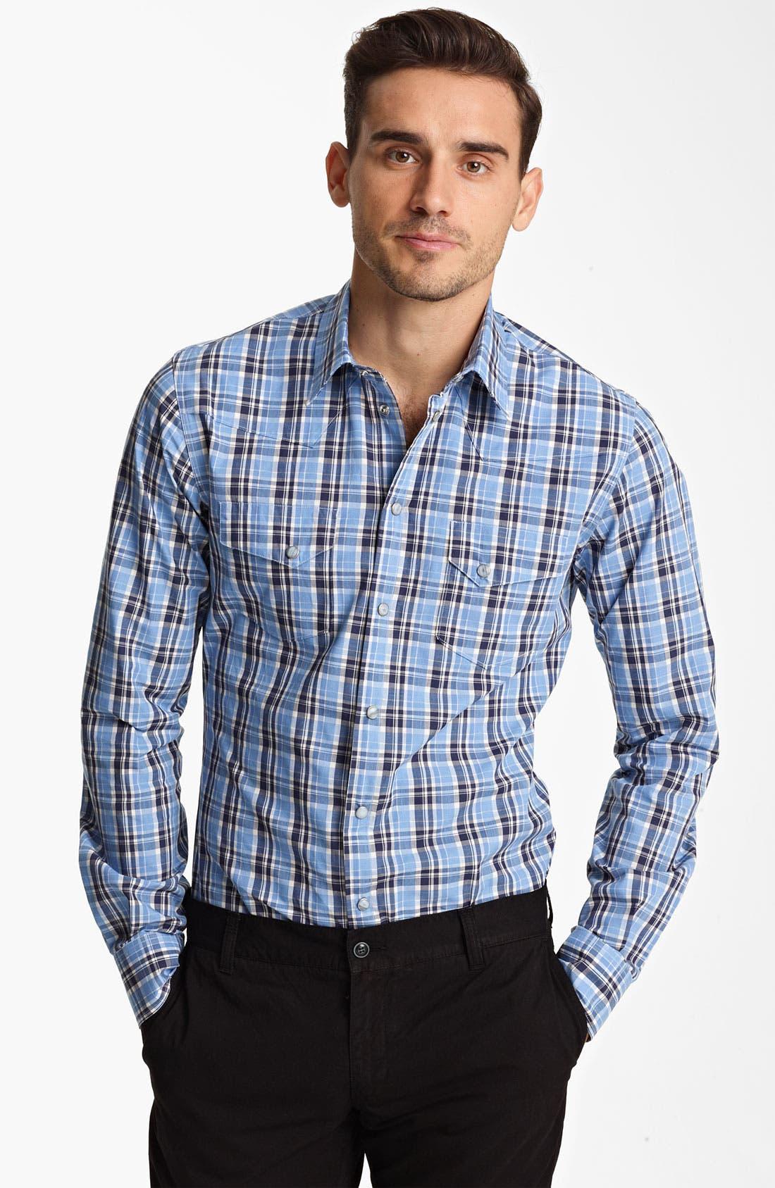 Alternate Image 1 Selected - Dolce&Gabbana Check Shirt