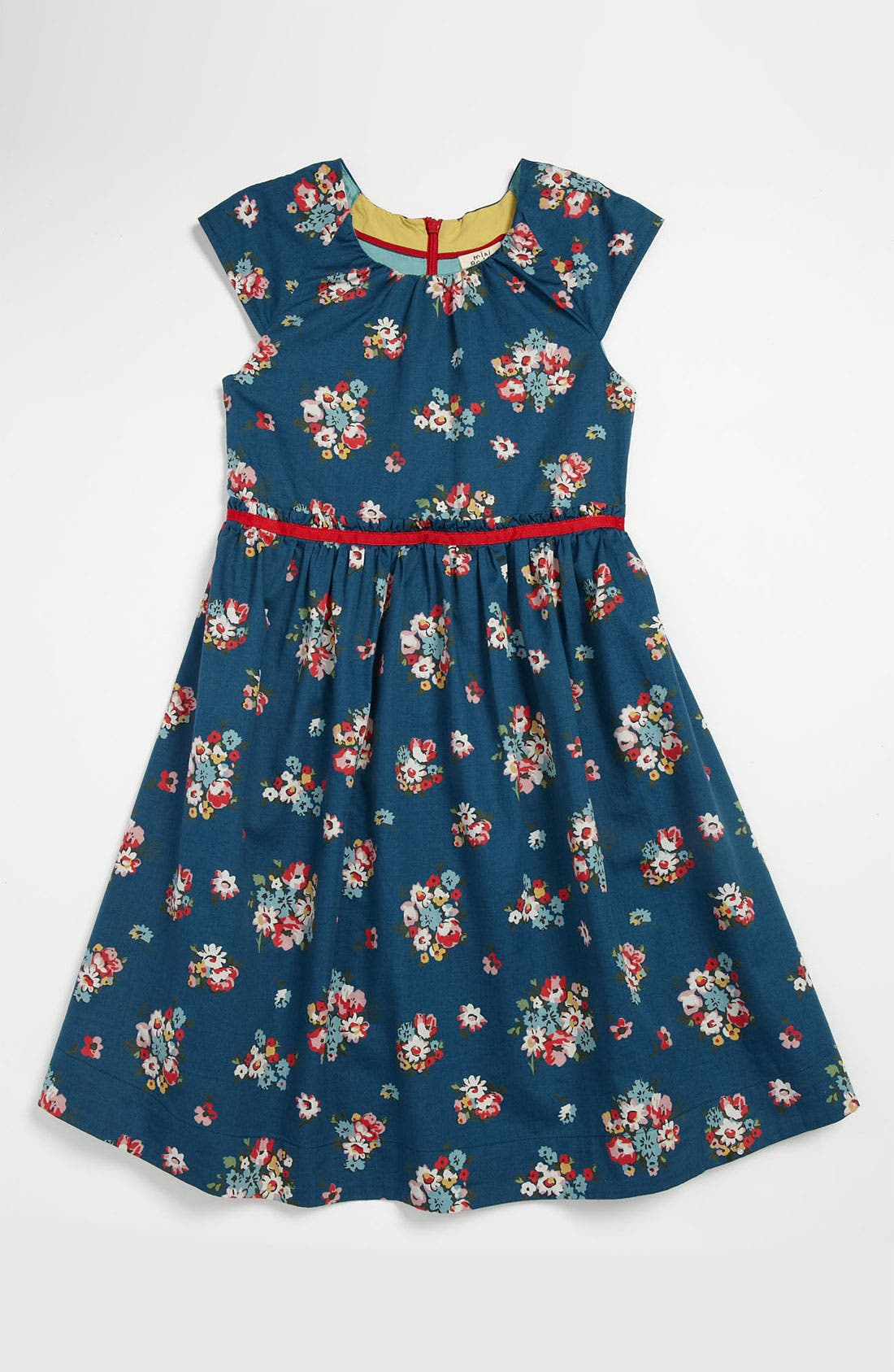 Alternate Image 1 Selected - Mini Boden Vintage Print Party Dress (Little Girls & Big Girls)