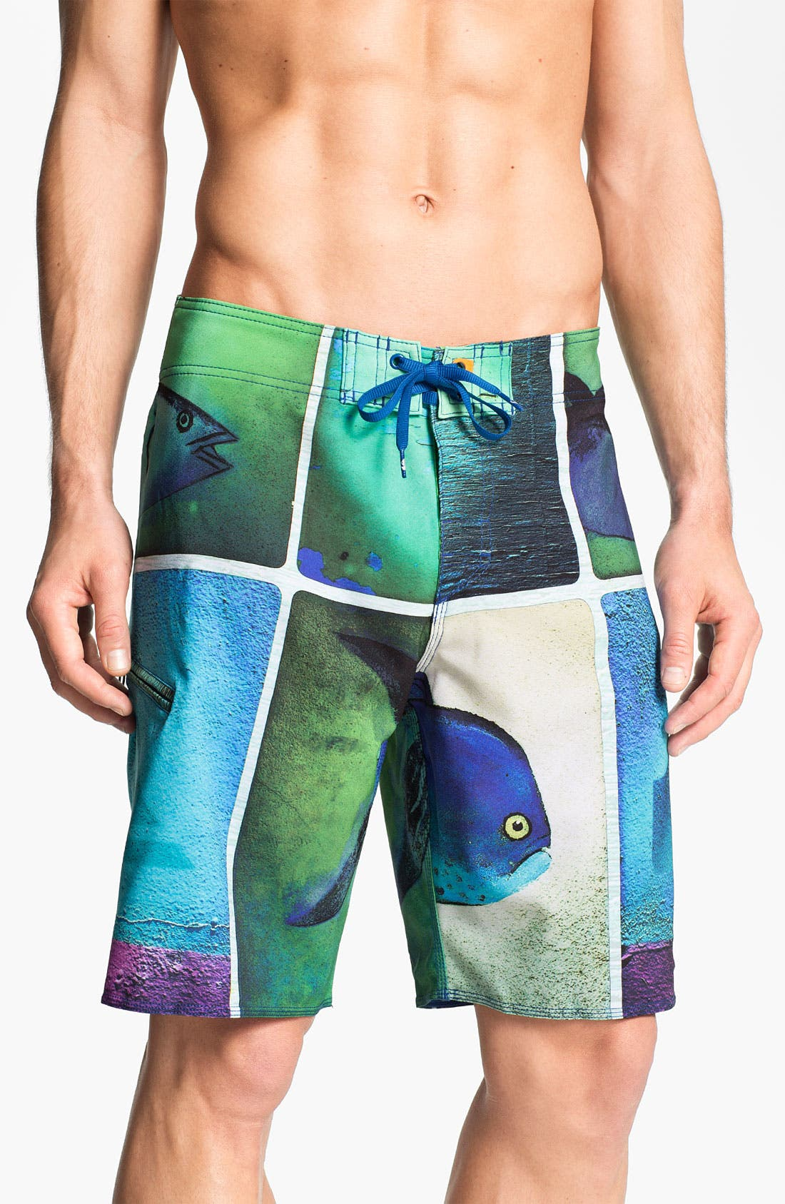 Alternate Image 1 Selected - Quiksilver Waterman 'Sashimi' Board Shorts