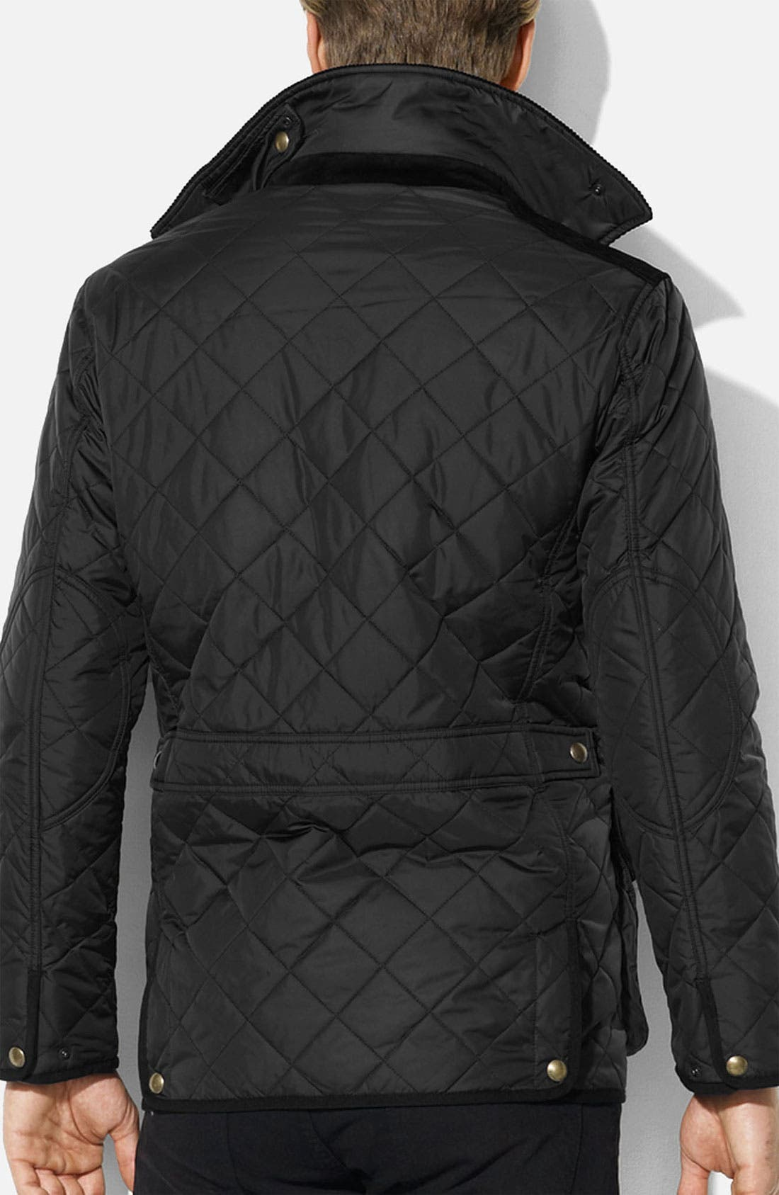 Alternate Image 2  - Polo Ralph Lauren Quilted Car Coat