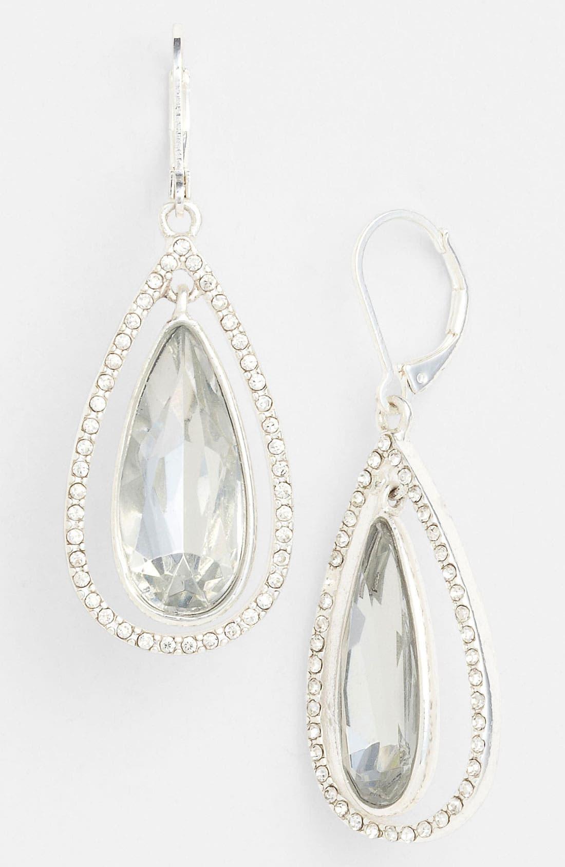 Main Image - Anne Klein Teardrop Earrings