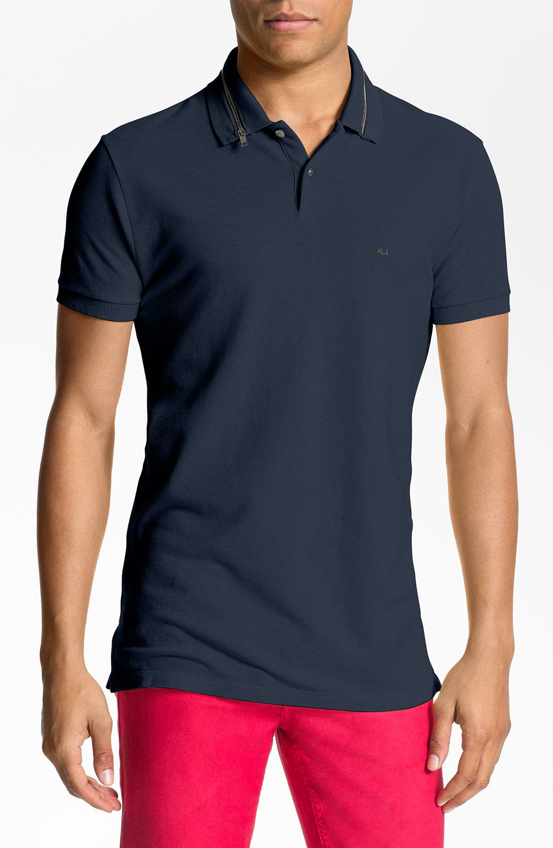 Alternate Image 1 Selected - MARC BY MARC JACOBS Zip Collar Polo