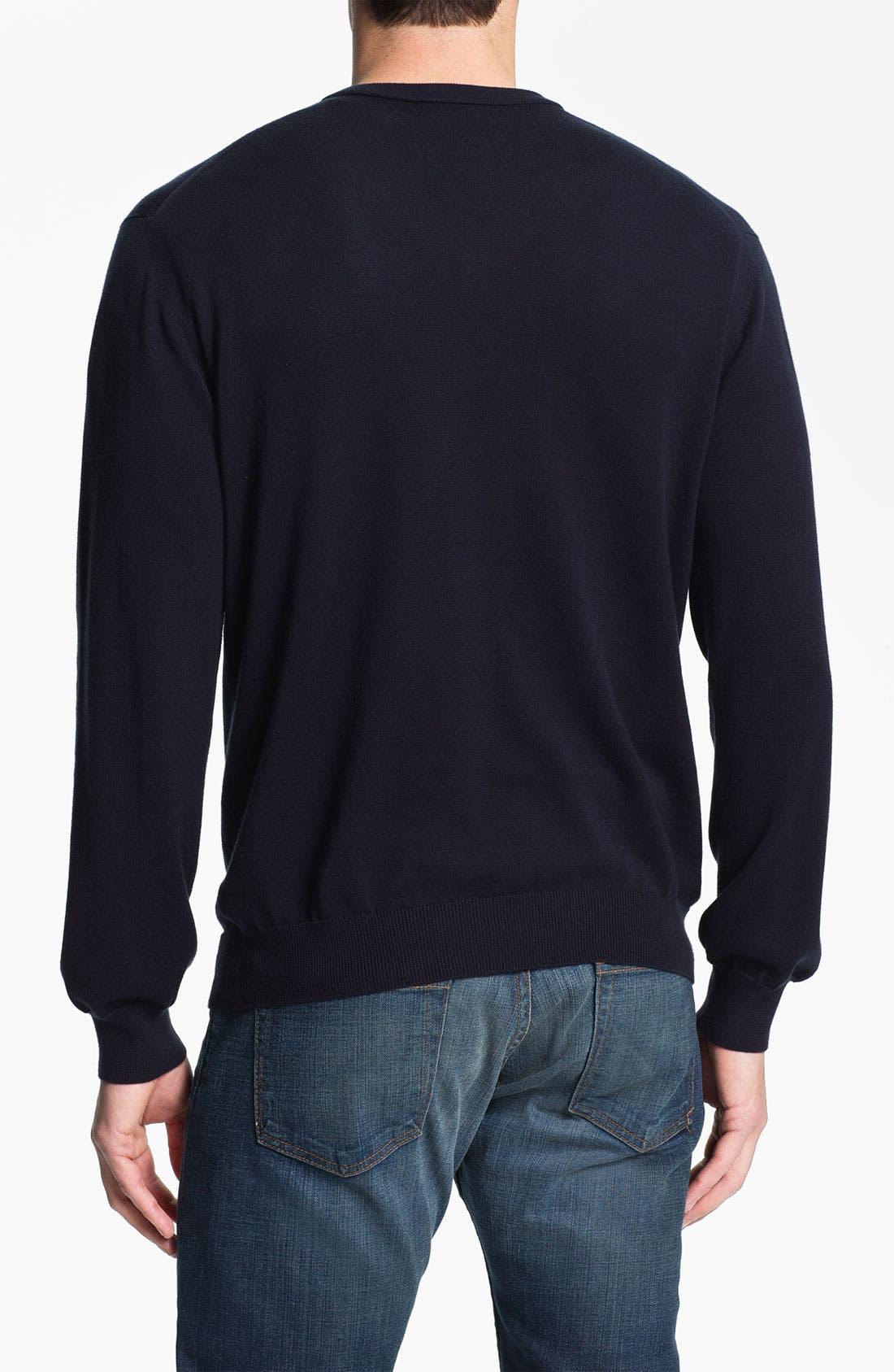 Alternate Image 2  - Psycho Bunny V-Neck Sweater