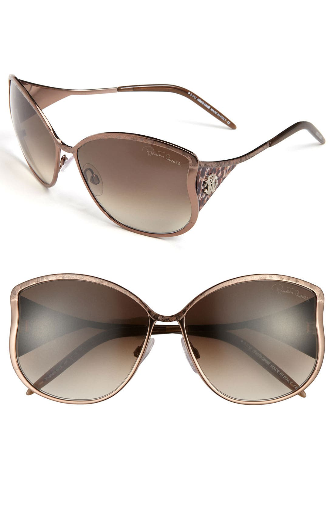 Main Image - Roberto Cavalli 61mm Oversized Sunglasses