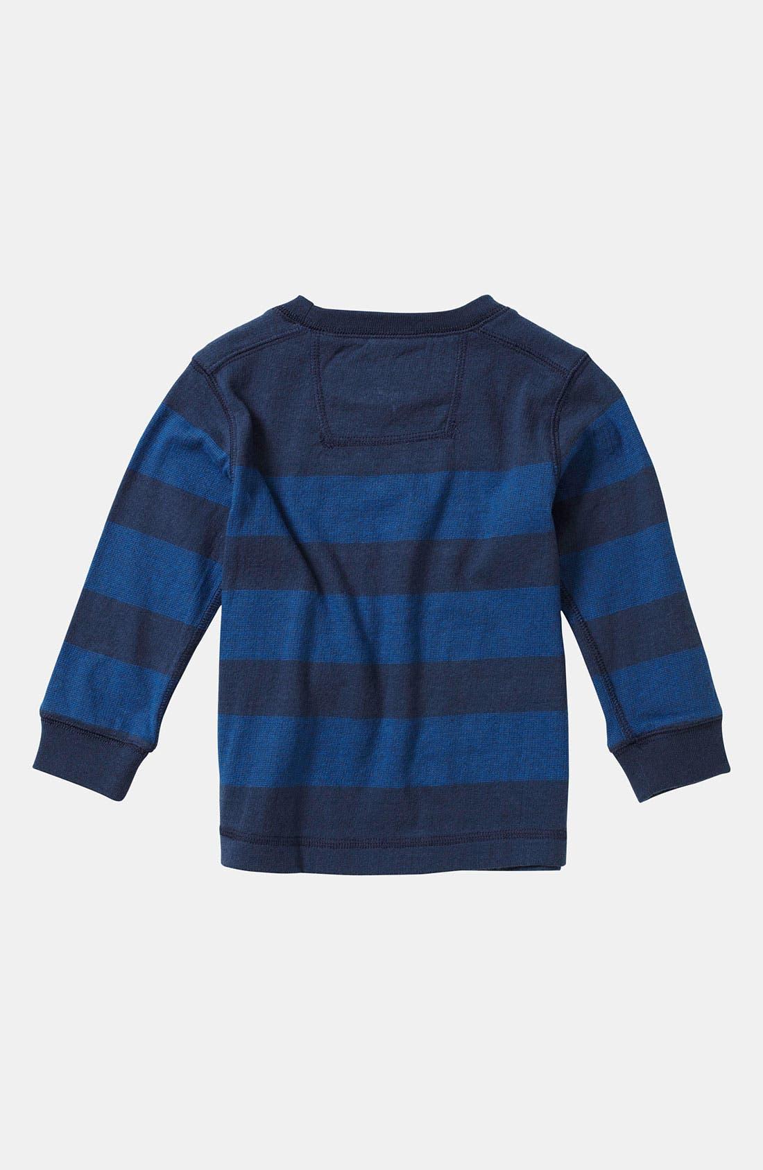 Alternate Image 2  - Quiksilver 'Snit' Stripe Shirt (Toddler)
